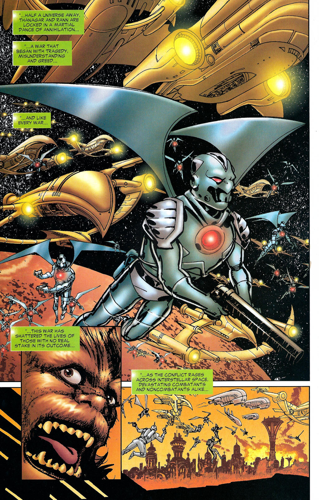 Read online Guy Gardner: Collateral Damage comic -  Issue #1 - 11