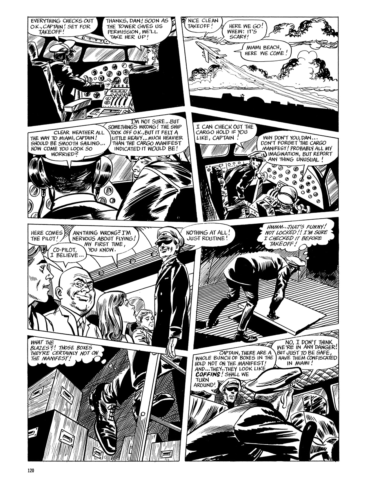 Read online Eerie Archives comic -  Issue # TPB 5 - 121