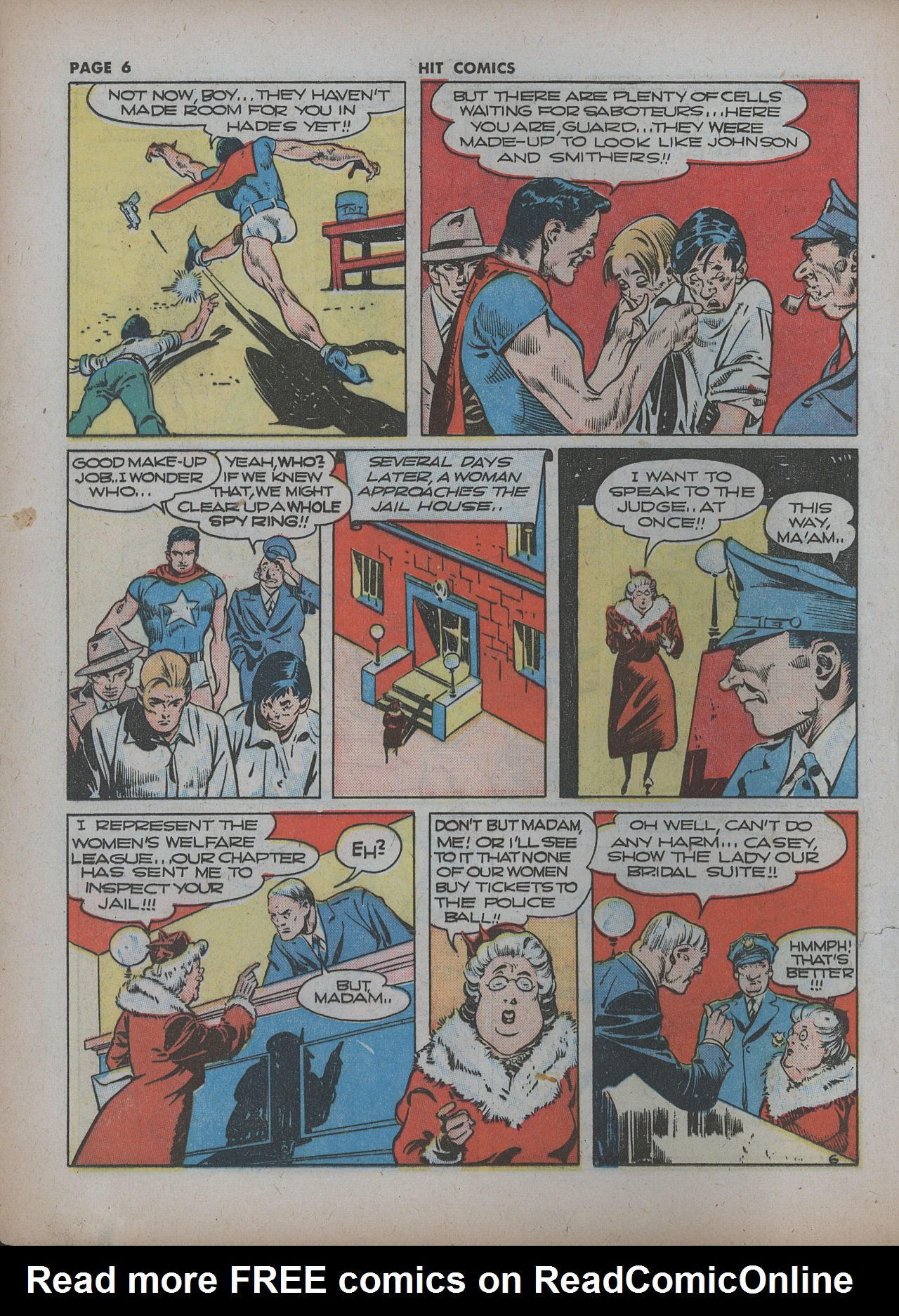 Read online Hit Comics comic -  Issue #22 - 8