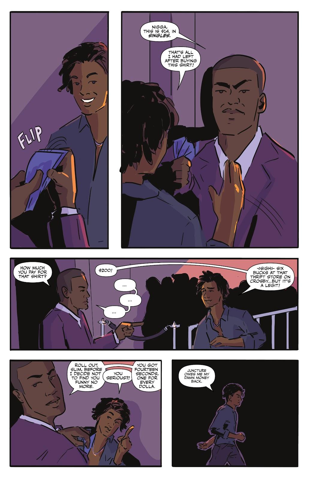 Read online Black (AF): Devil's Dye comic -  Issue #2 - 4