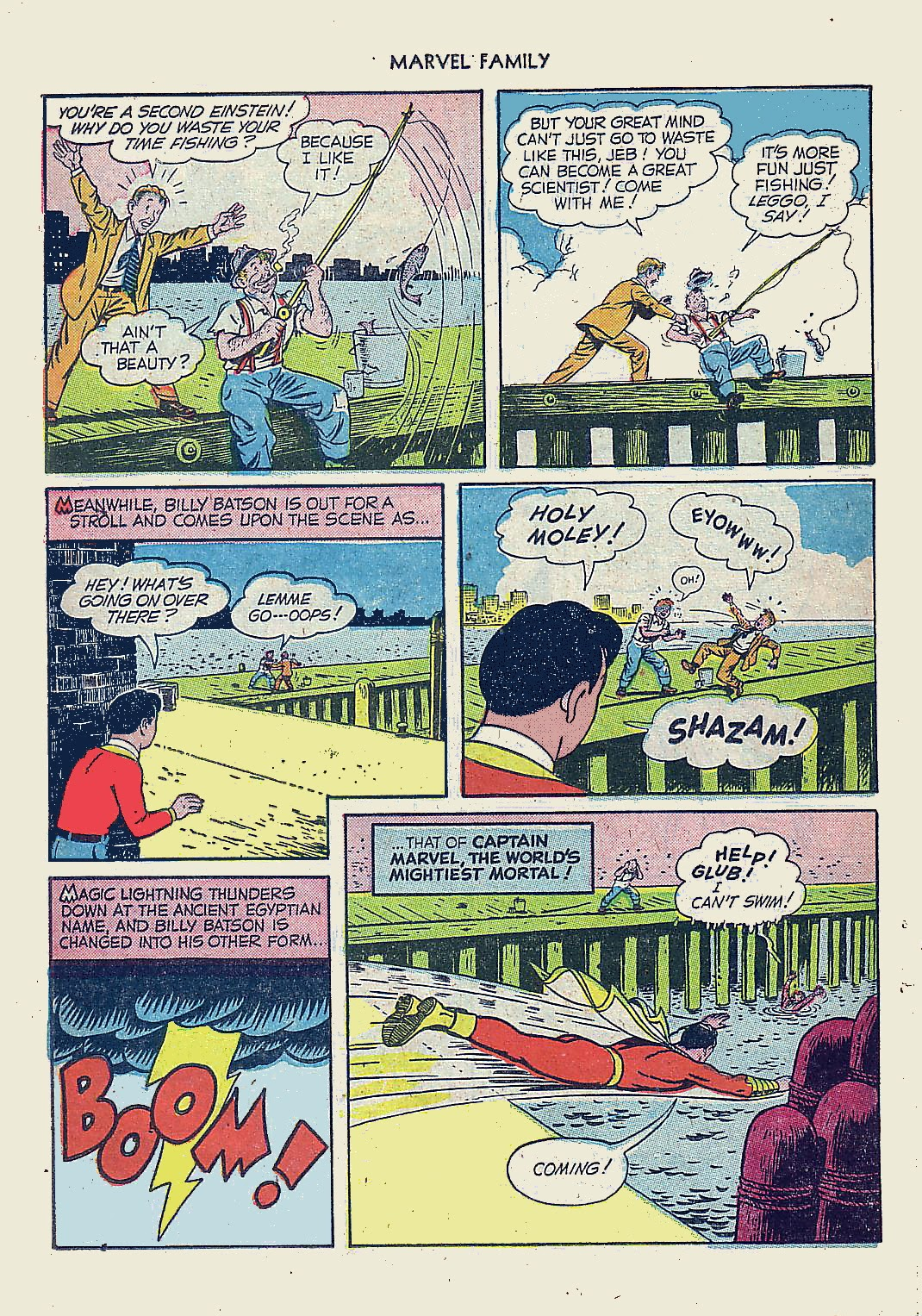The Marvel Family issue 61 - Page 26