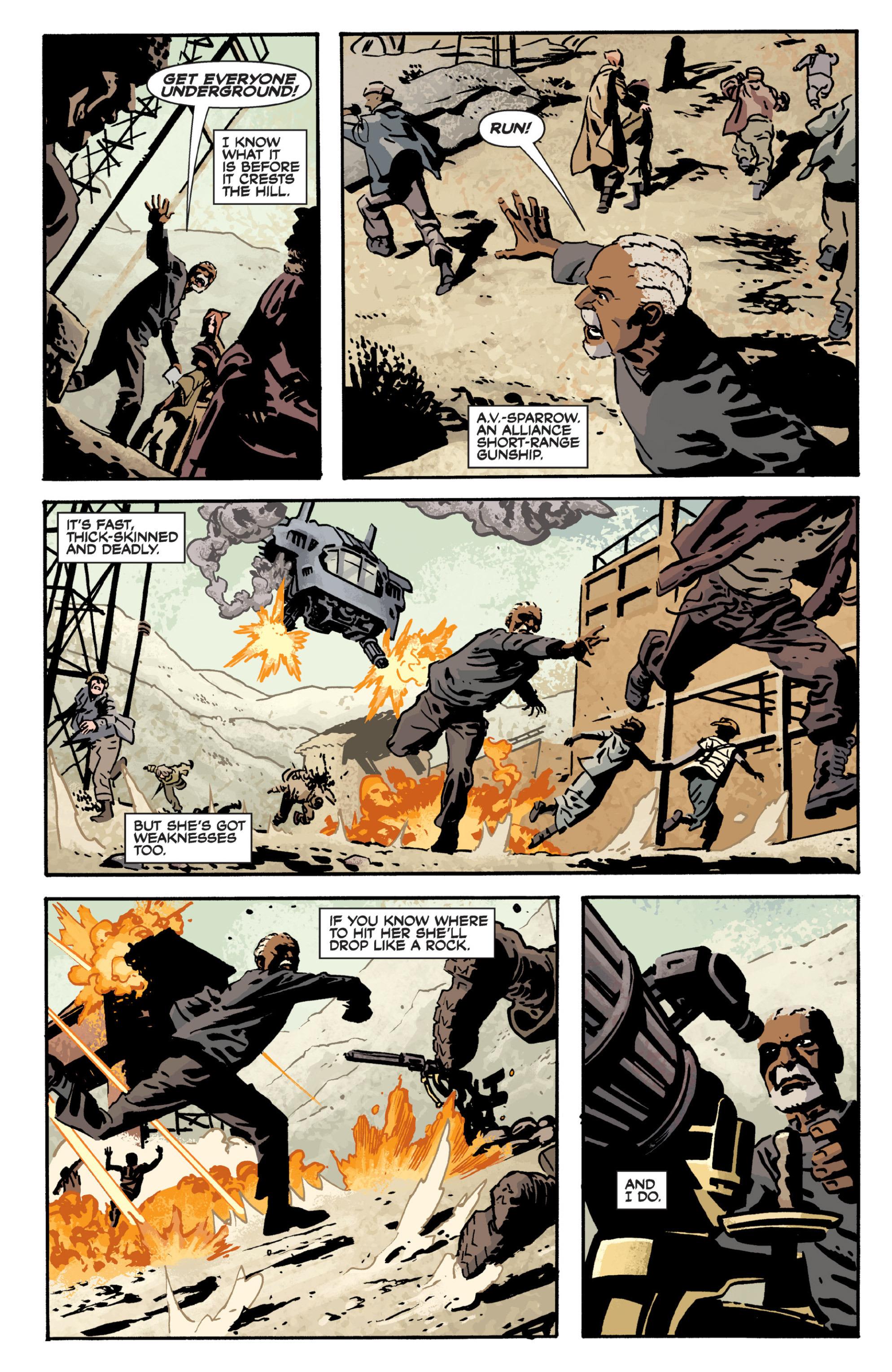 Read online Serenity Volume Three: The Shepherd's Tale comic -  Issue # TPB - 11