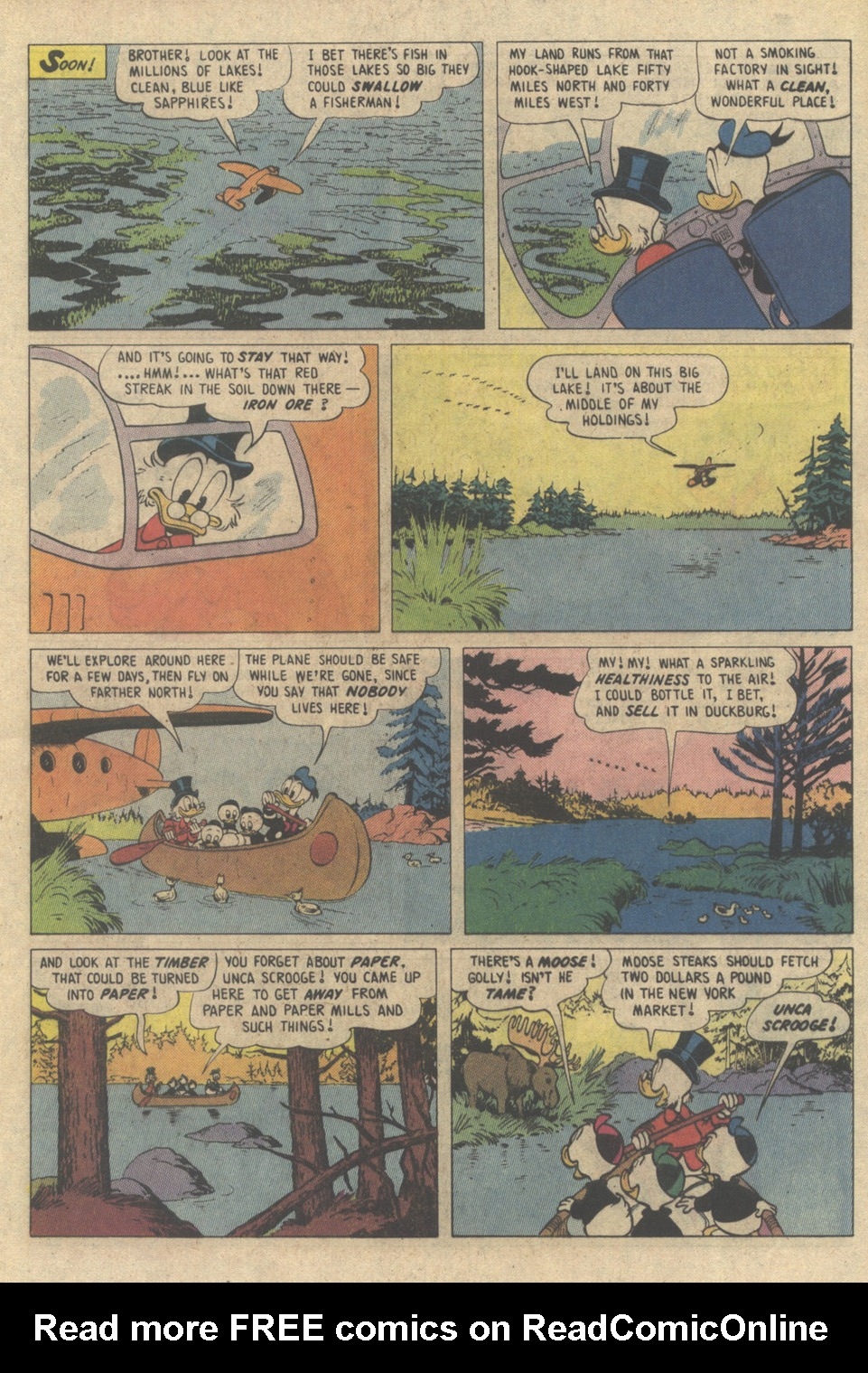 Read online Uncle Scrooge (1953) comic -  Issue #208 - 5