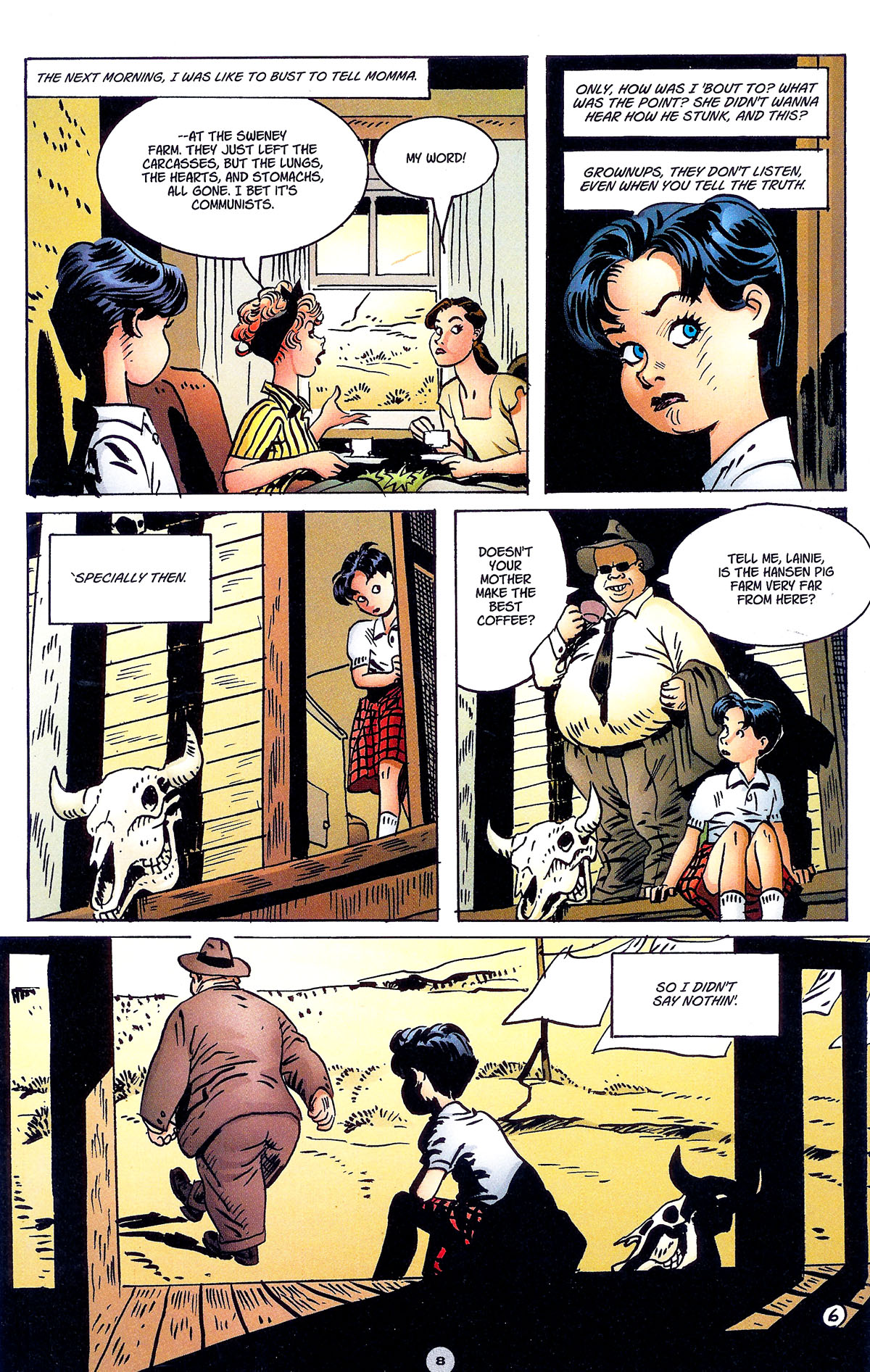 Read online Solo (2004) comic -  Issue #6 - 9