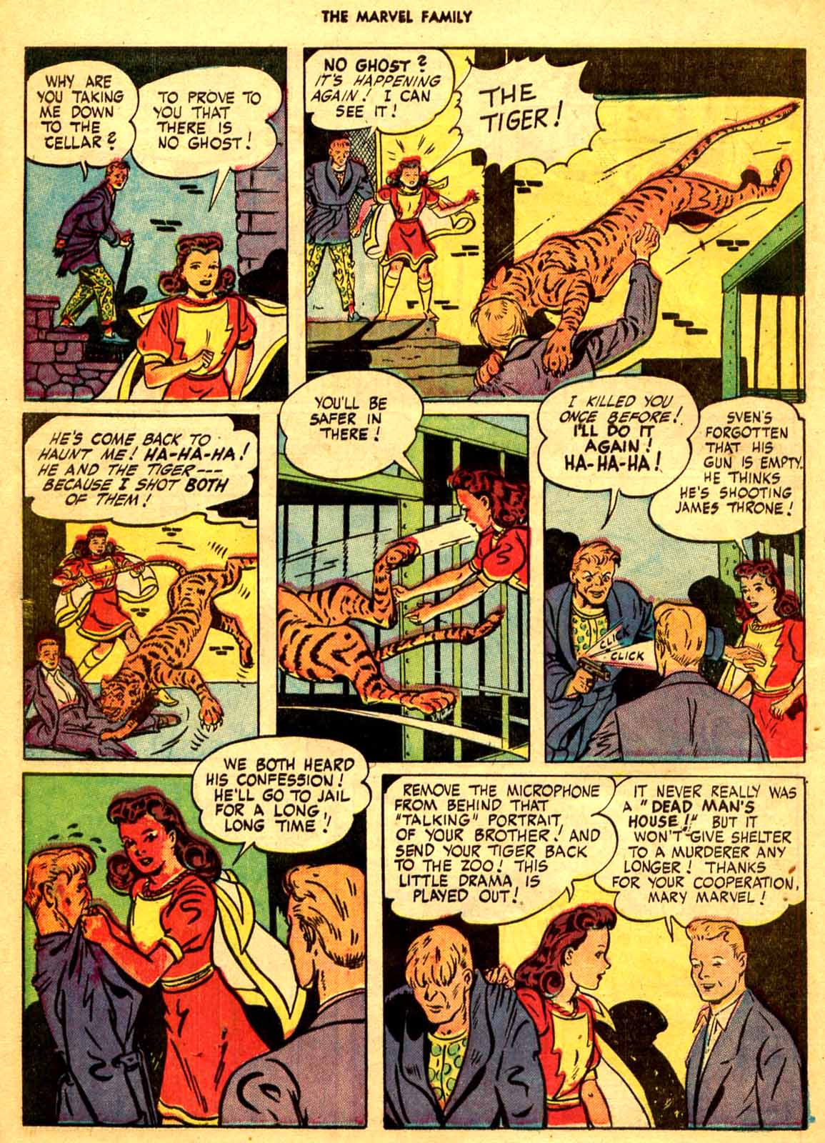 The Marvel Family issue 9 - Page 36