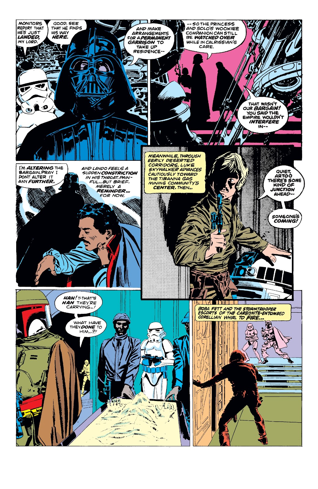 Read online Star Wars Legends: The Original Marvel Years - Epic Collection comic -  Issue # TPB 3 (Part 1) - 99