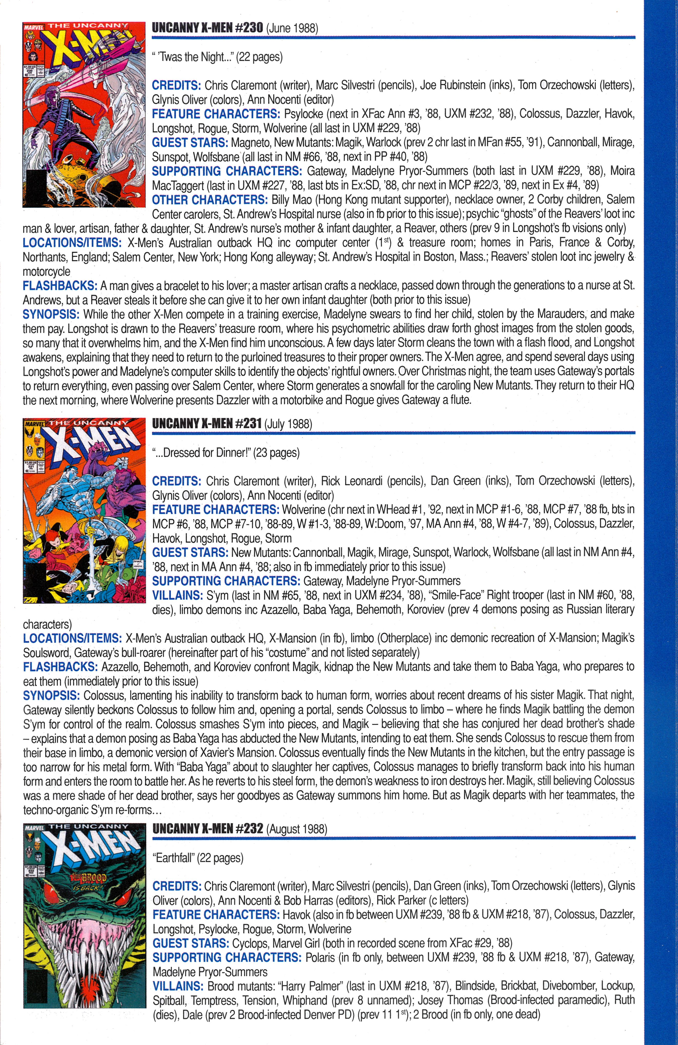 Read online Official Index to the Marvel Universe comic -  Issue #6 - 45