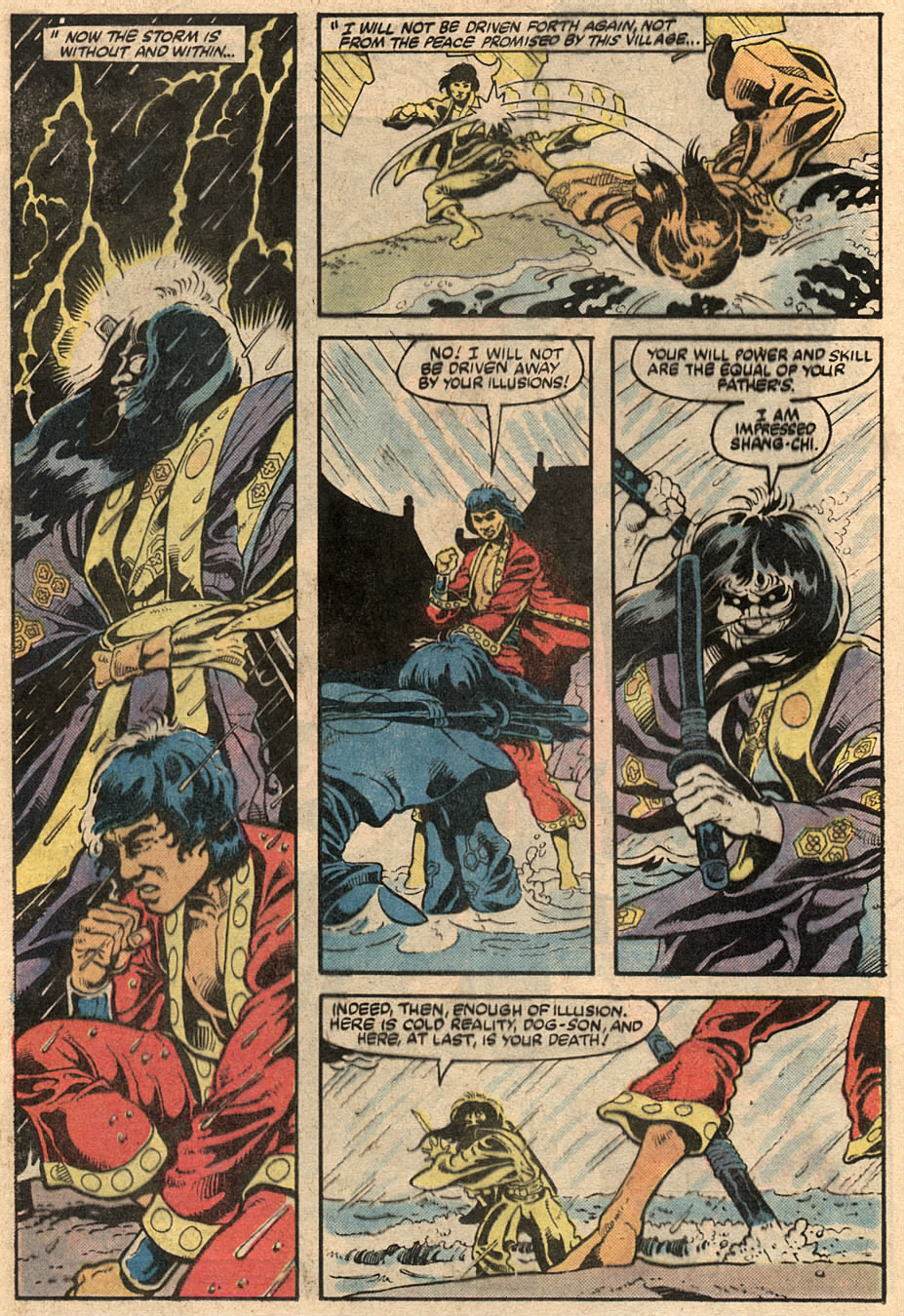 Read online Master of Kung Fu (1974) comic -  Issue #125 - 32