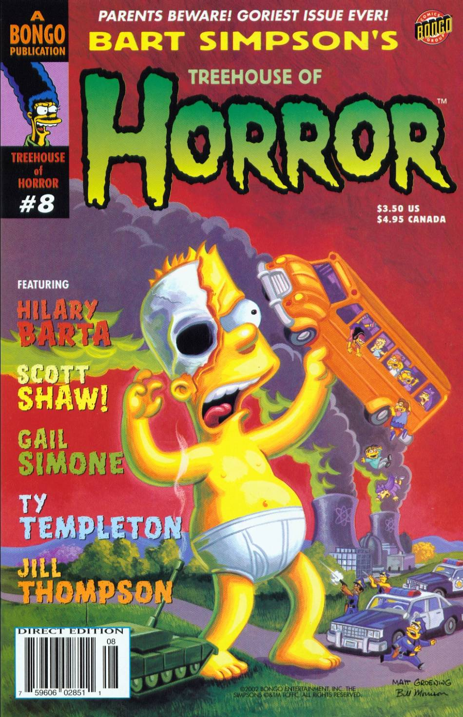Read online Treehouse of Horror comic -  Issue #8 - 1