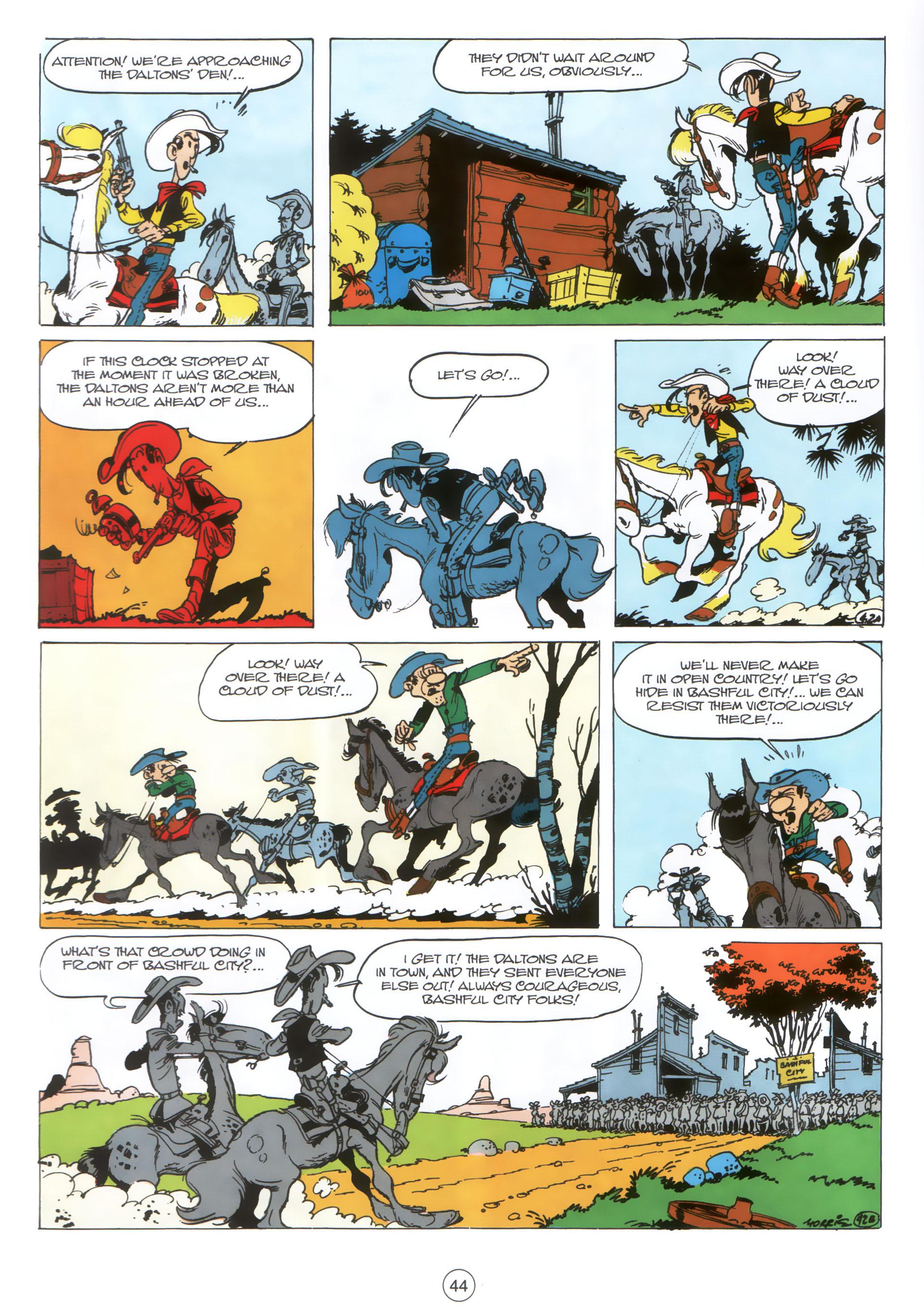 Read online A Lucky Luke Adventure comic -  Issue #30 - 43