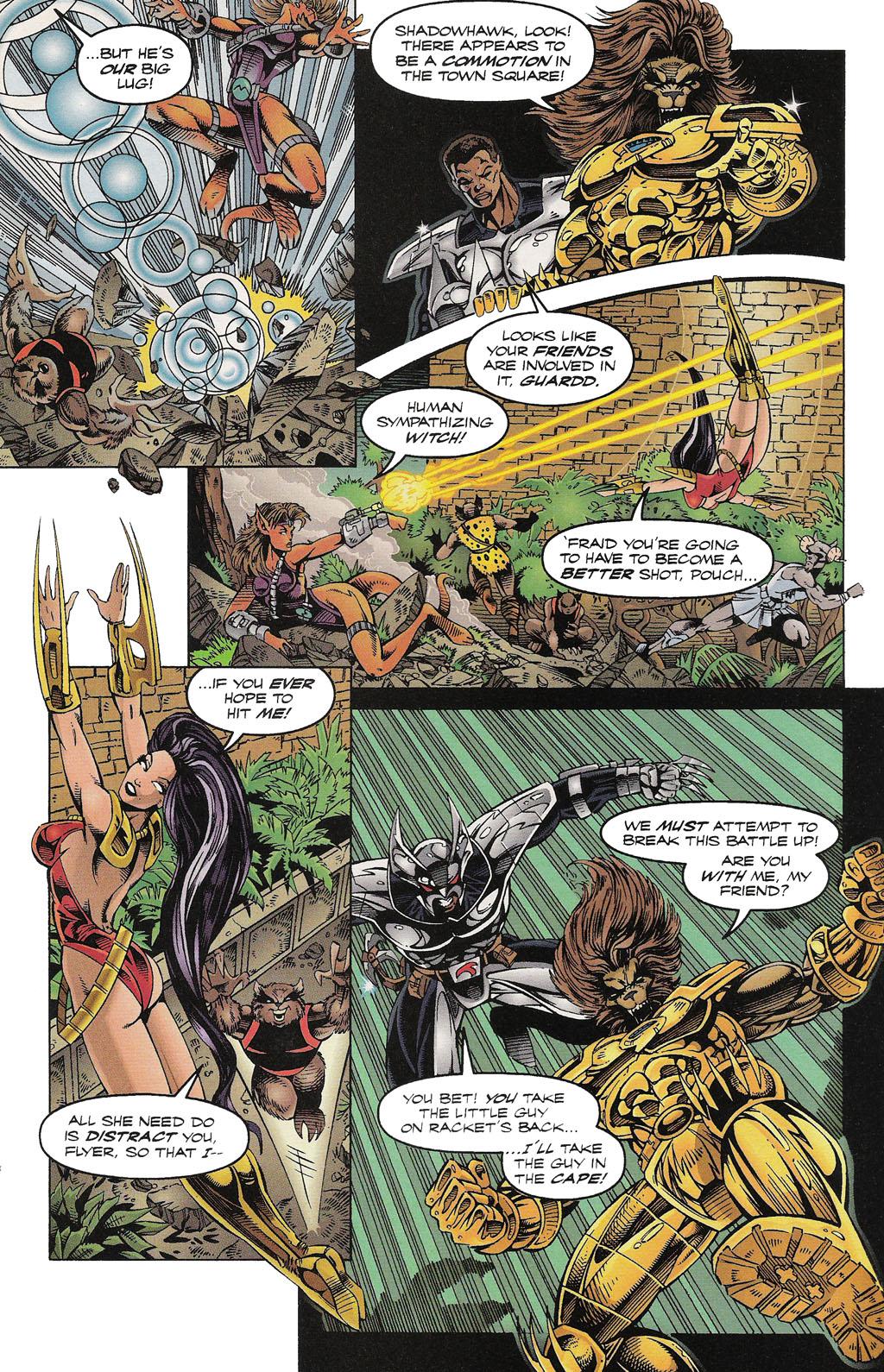 Read online ShadowHawk comic -  Issue #15 - 20