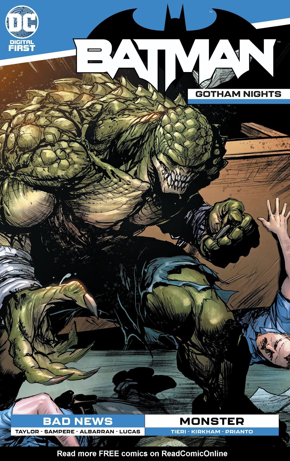 Batman: Gotham Nights (2020) 14 Page 1