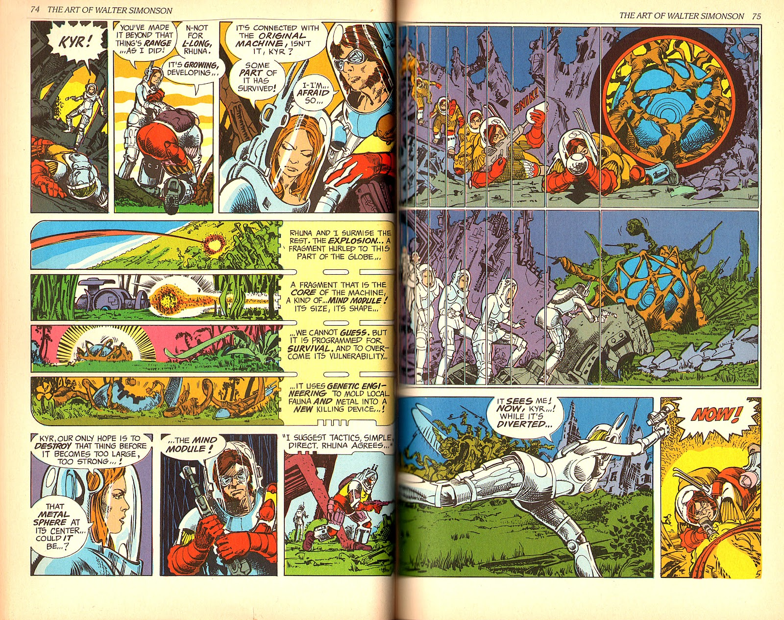 Read online The Art of Walter Simonson comic -  Issue # TPB - 39