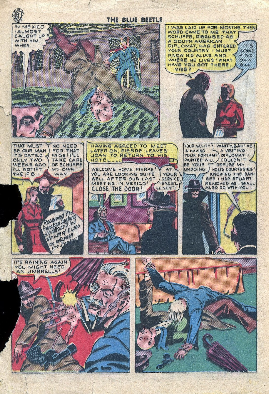 The Blue Beetle issue 34 - Page 25