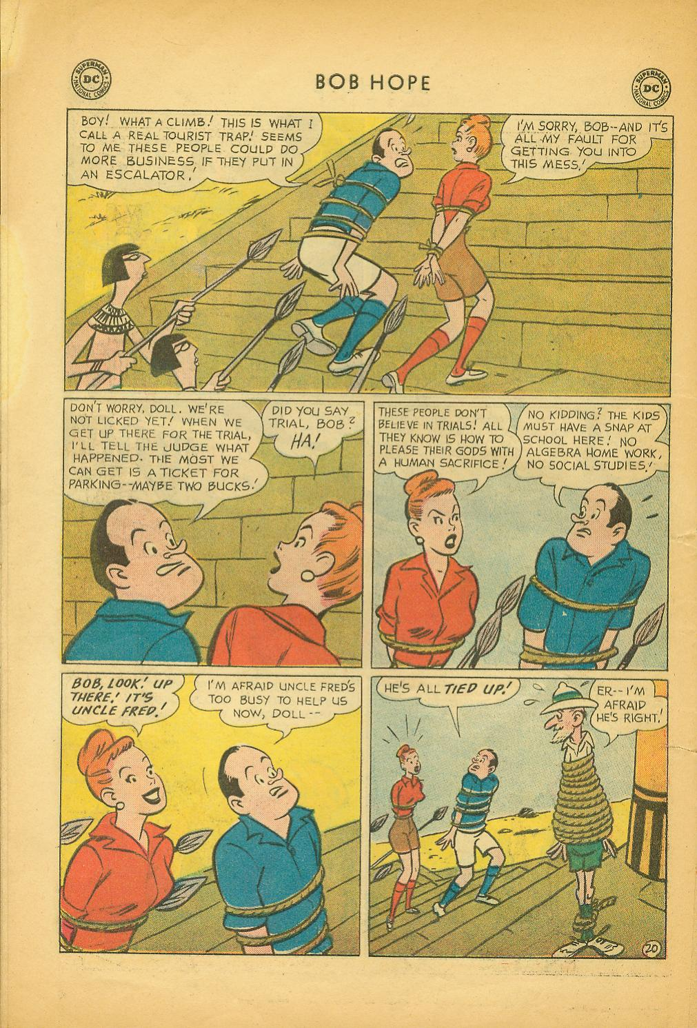 The Adventures of Bob Hope issue 64 - Page 26