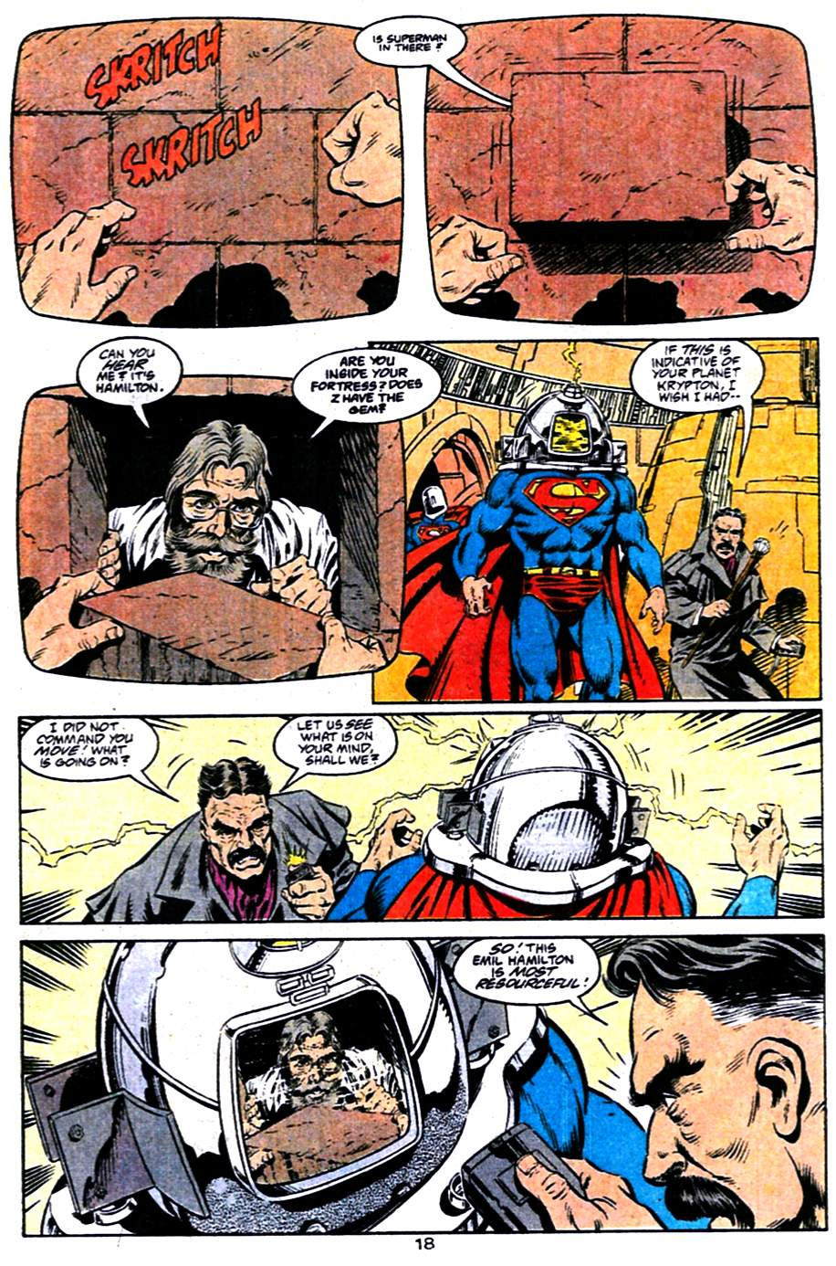 Read online Adventures of Superman (1987) comic -  Issue #484 - 19