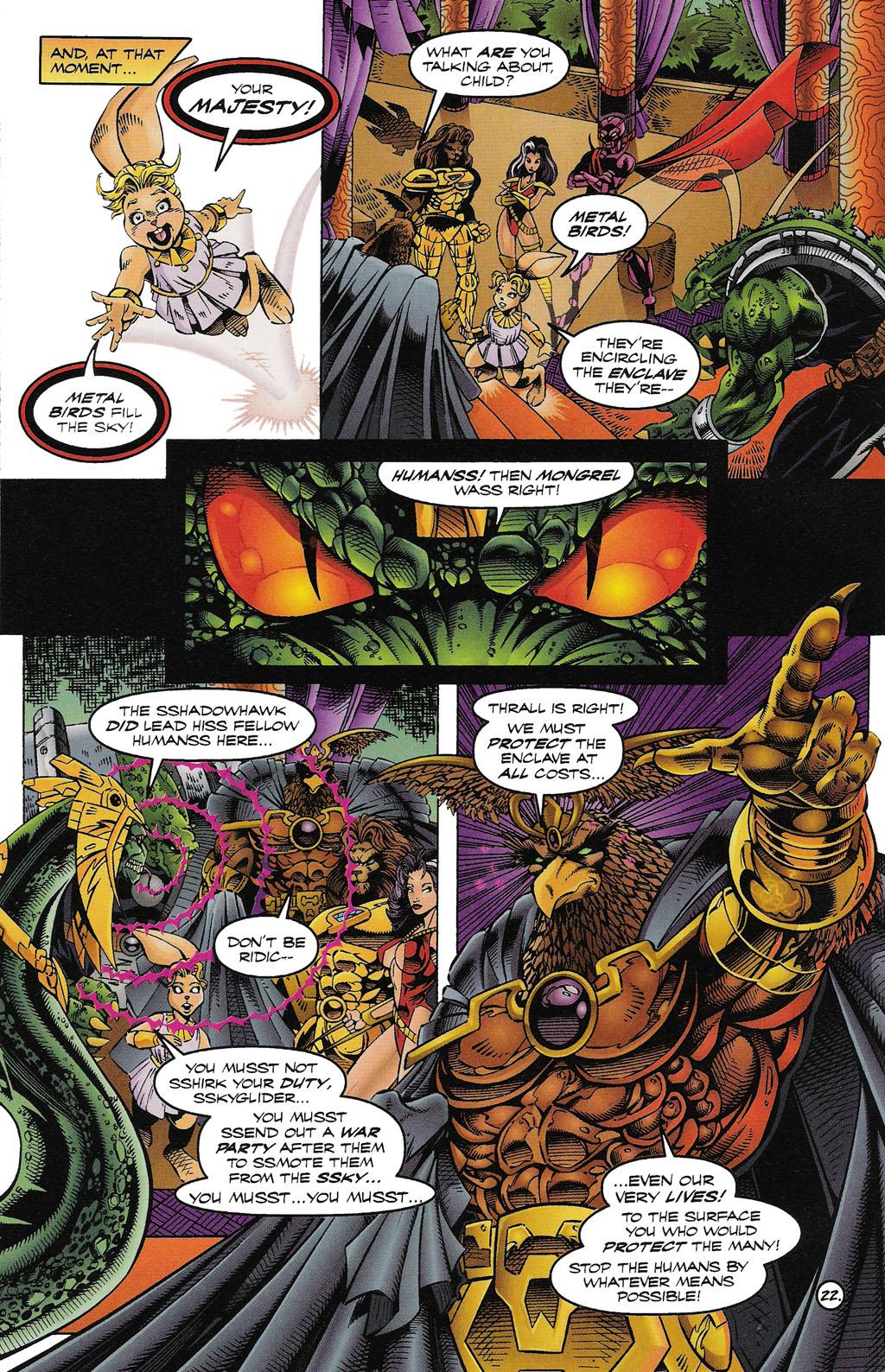Read online ShadowHawk comic -  Issue #15 - 25