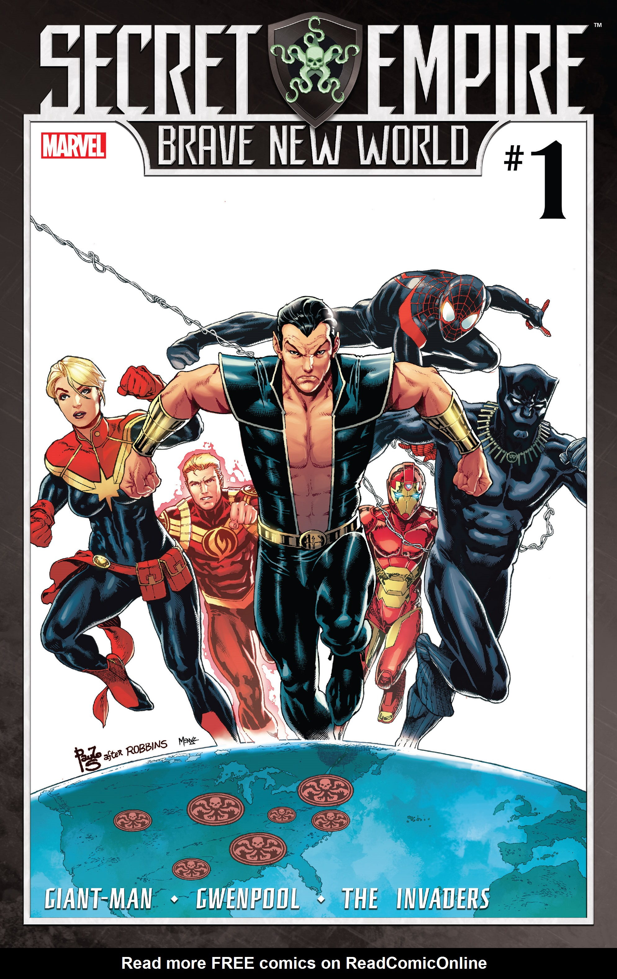 Read online Secret Empire: Brave New World comic -  Issue #1 - 1
