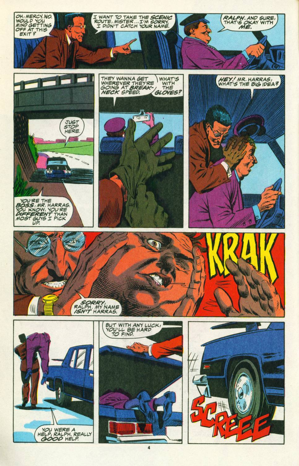 Read online Justice (1986) comic -  Issue #25 - 6