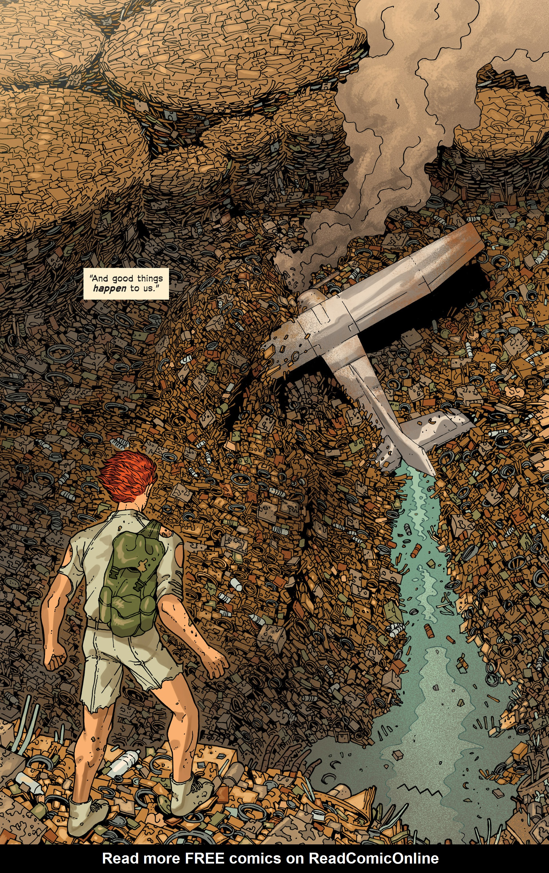 Read online Great Pacific comic -  Issue #3 - 14