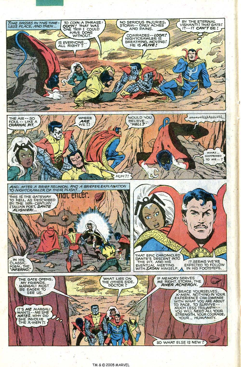 Read online Uncanny X-Men (1963) comic -  Issue # _Annual 4 - 18