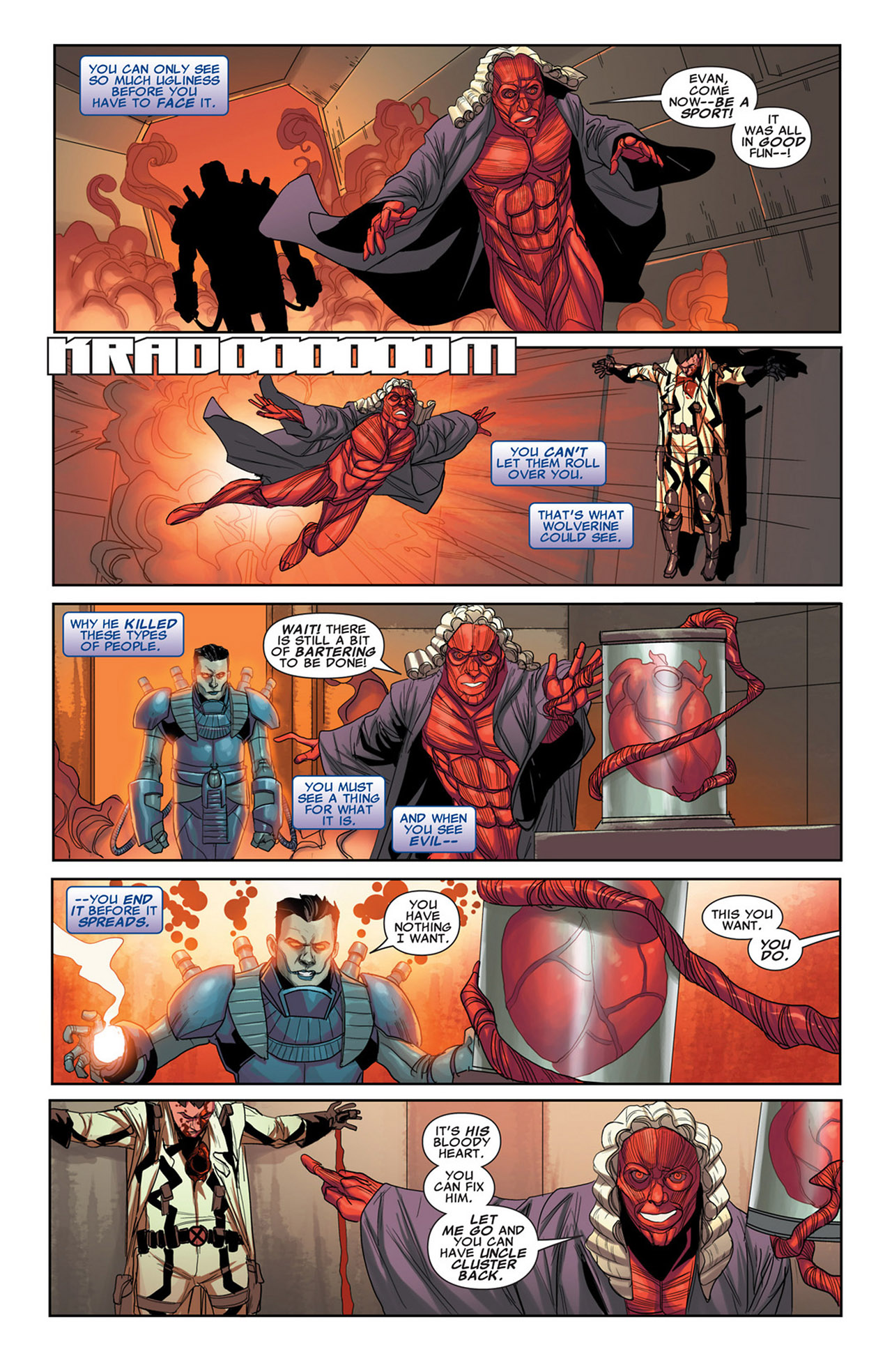 Read online Uncanny X-Force (2010) comic -  Issue #34 - 6