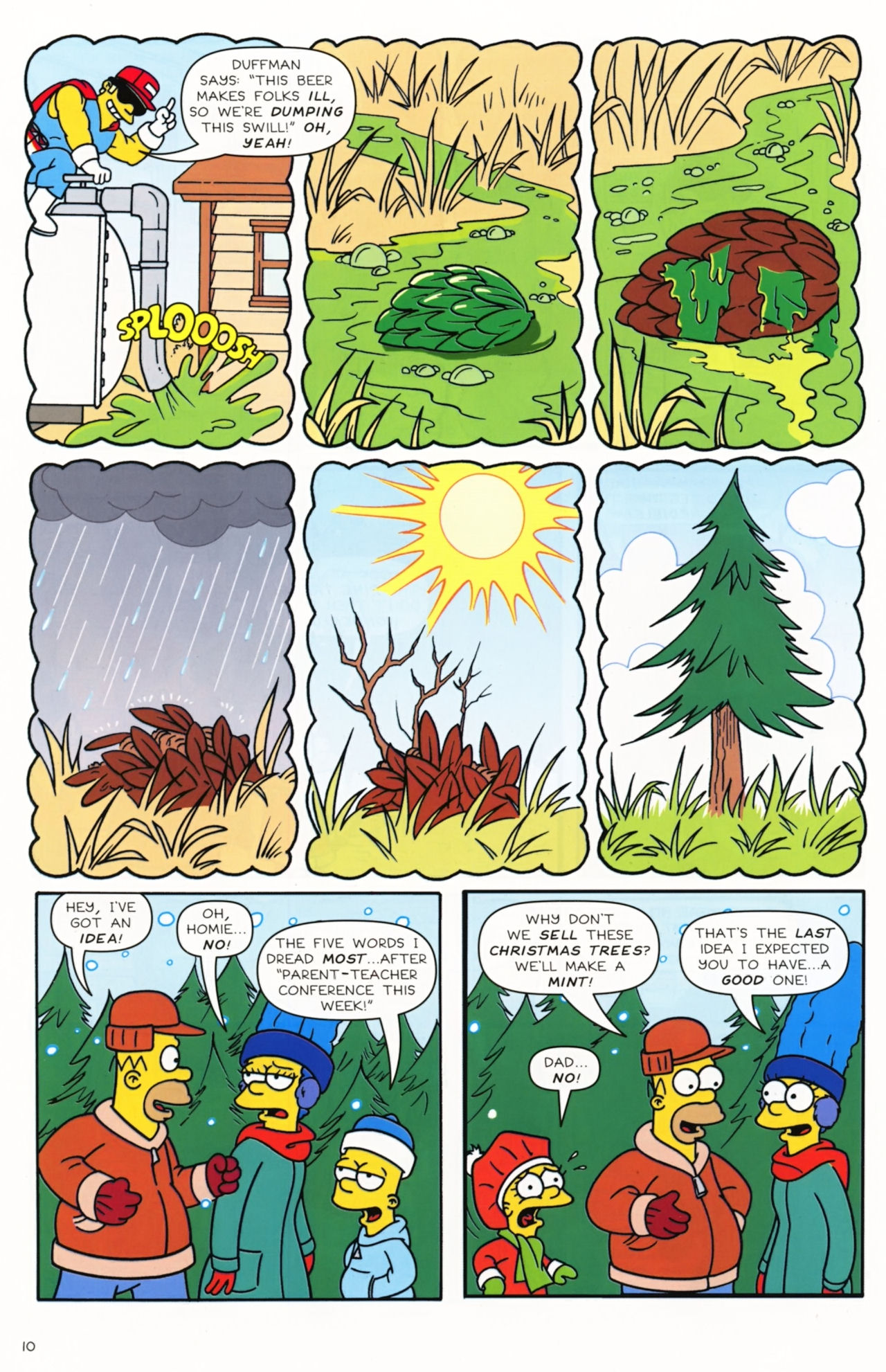 Read online Simpsons Comics comic -  Issue #172 - 12