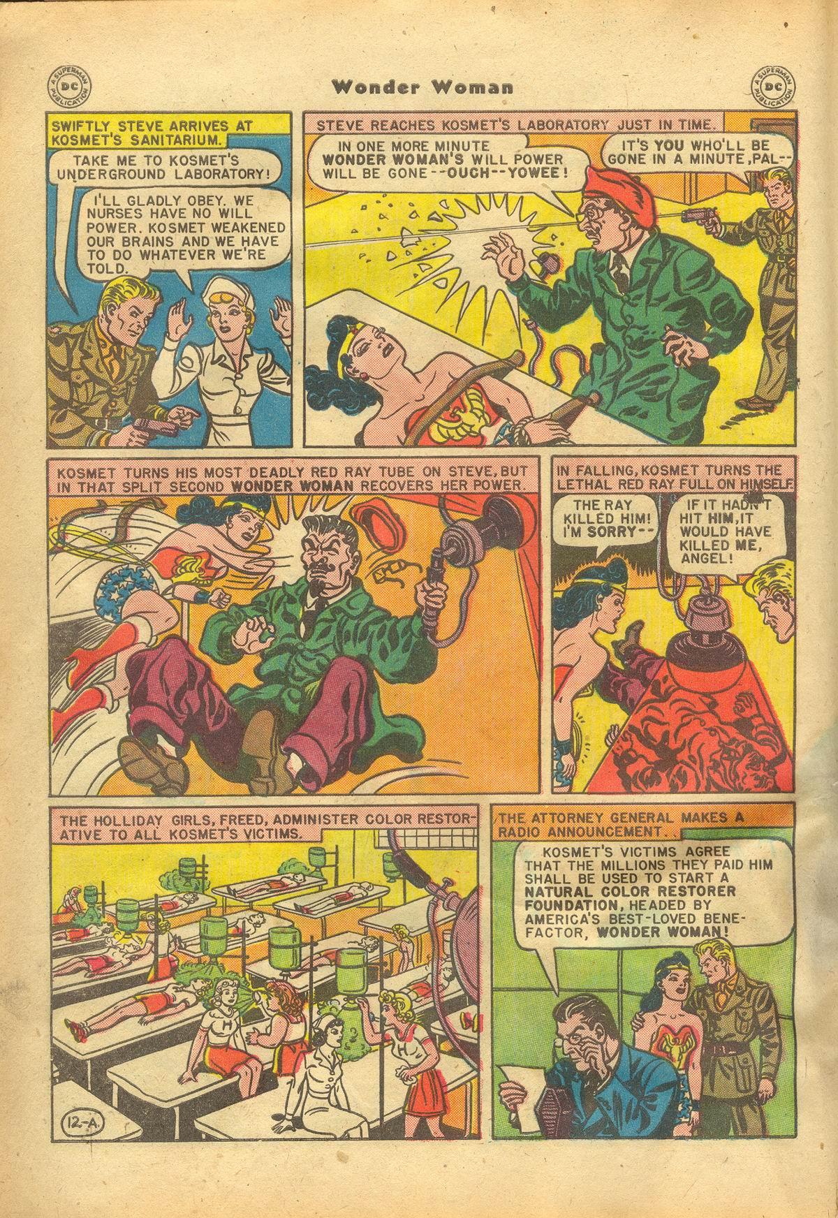 Read online Wonder Woman (1942) comic -  Issue #22 - 14