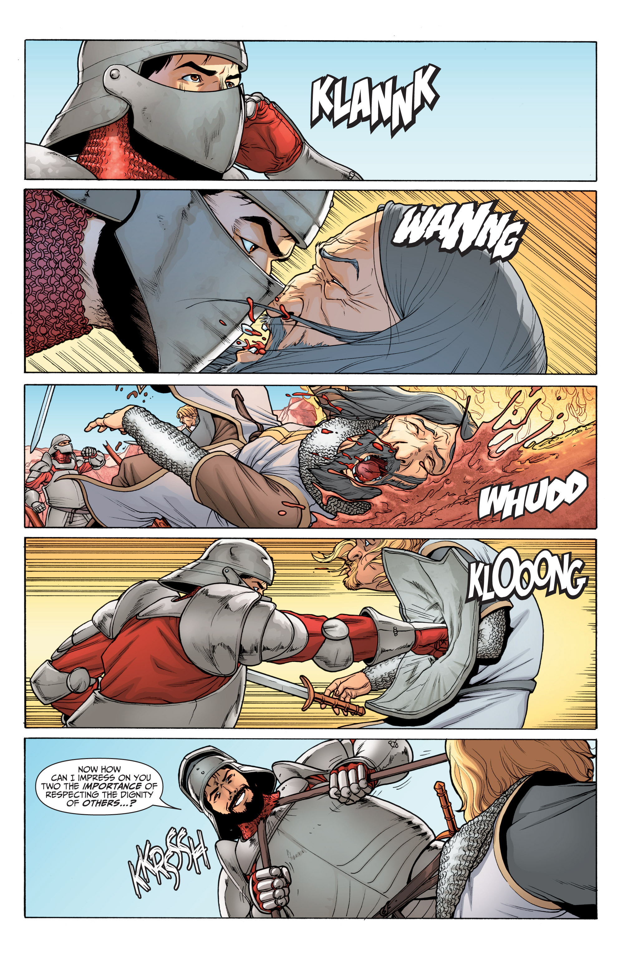 Read online Archer and Armstrong comic -  Issue #Archer and Armstrong _TPB 6 - 52