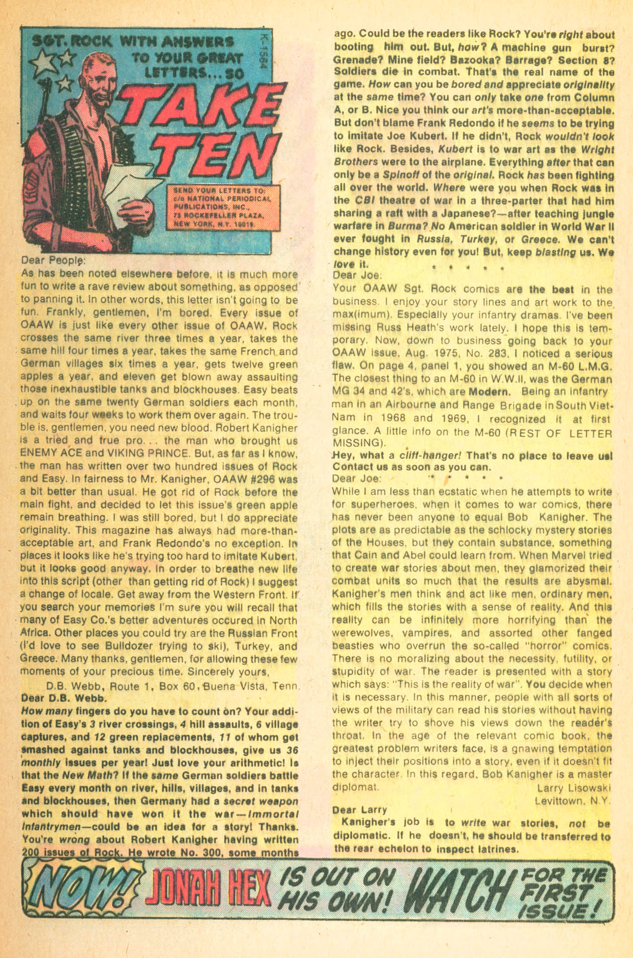 Read online Sgt. Rock comic -  Issue #302 - 32