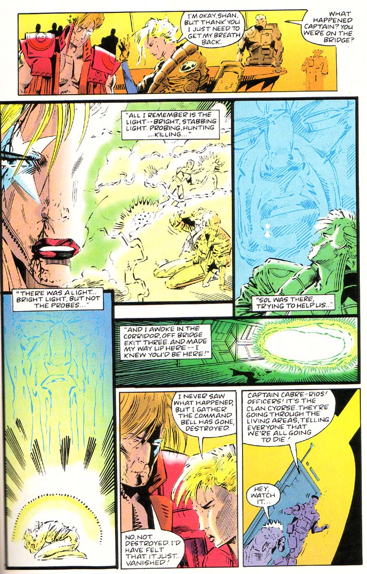 Read online Cyberspace 3000 comic -  Issue #1 - 14