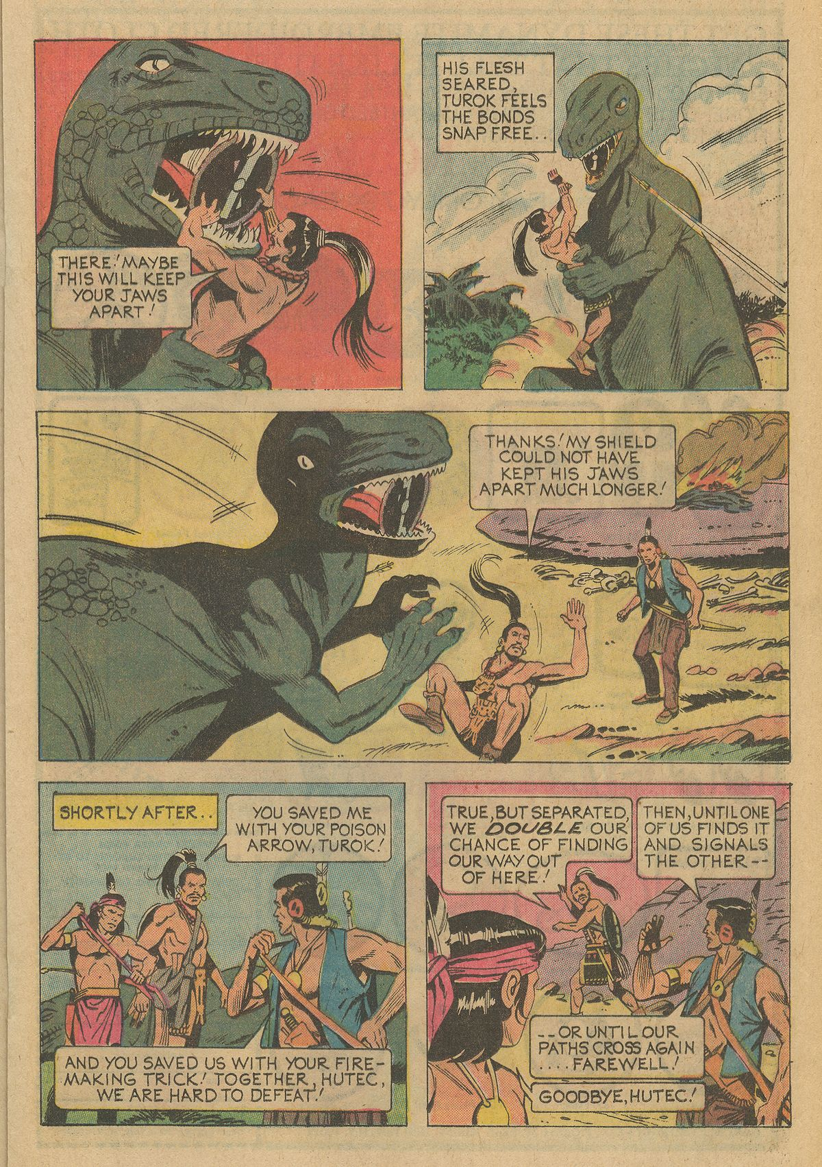Read online Turok, Son of Stone comic -  Issue #95 - 17
