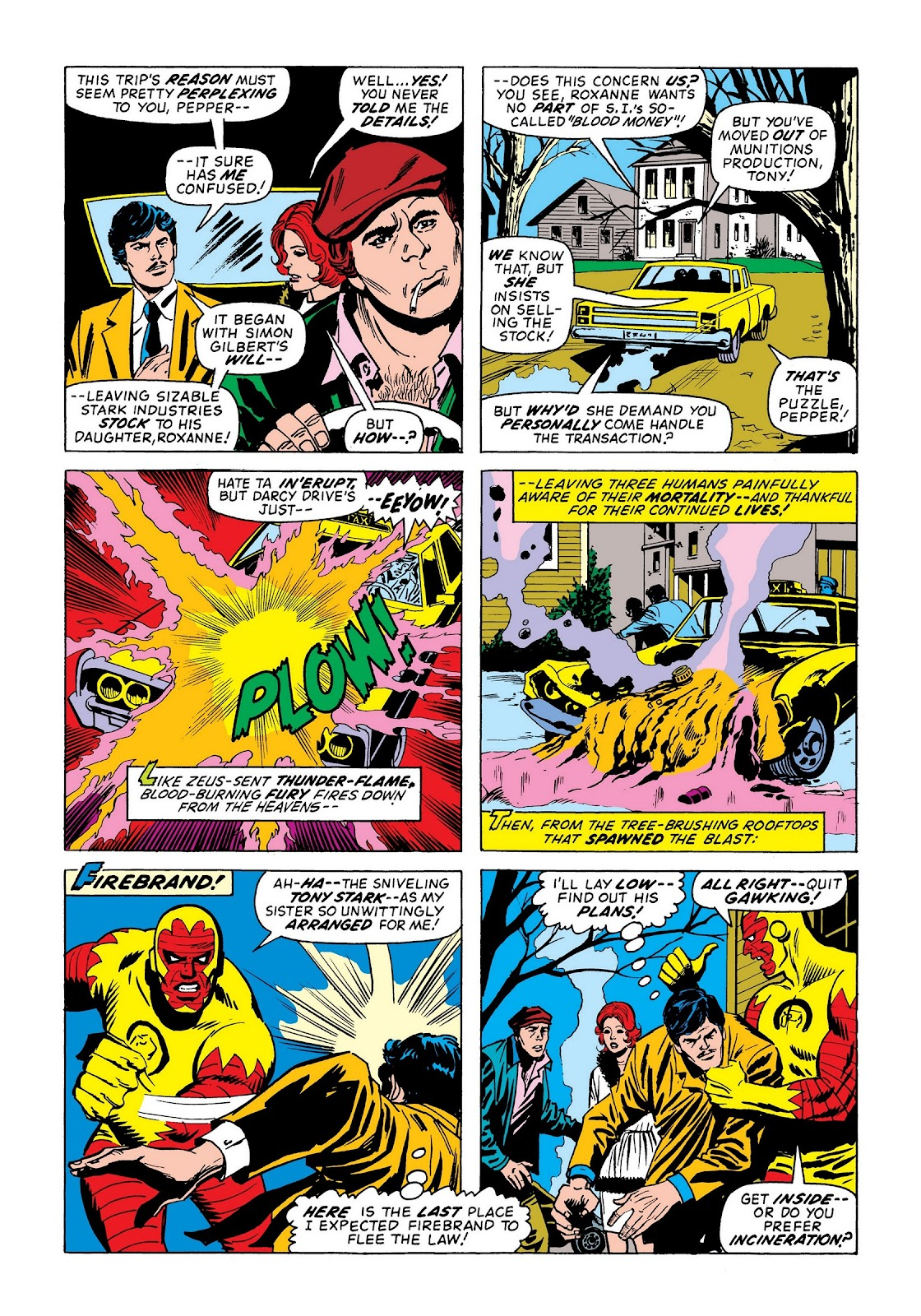 Read online Marvel Masterworks: The Invincible Iron Man comic -  Issue # TPB 9 (Part 2) - 22