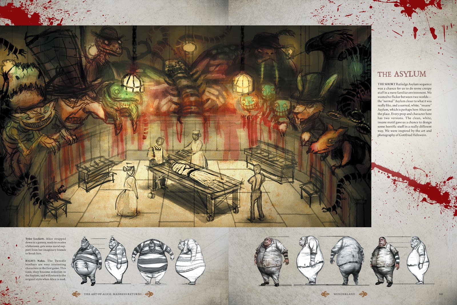 Read online The Art of Alice: Madness Returns comic -  Issue # TPB (Part 2) - 38