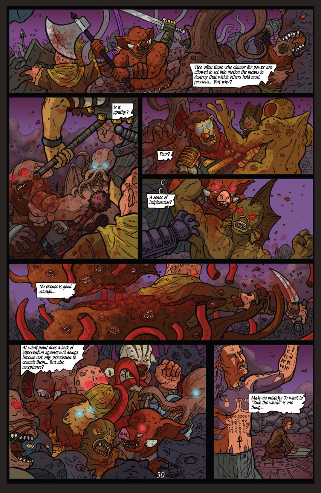Read online Nightmare World comic -  Issue # Vol. 2 Leave the Light On - 51