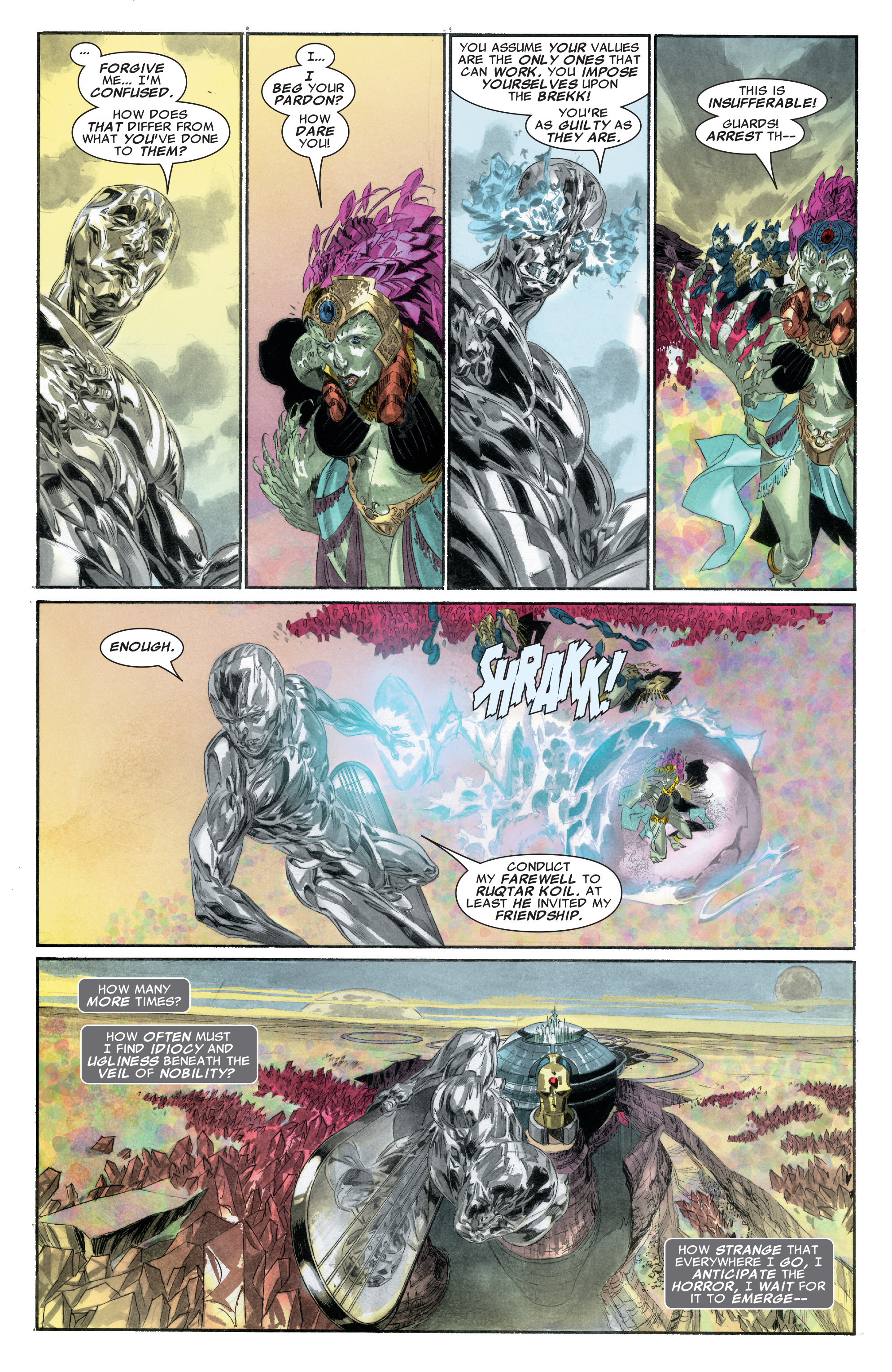 Read online Silver Surfer: In Thy Name comic -  Issue #2 - 19