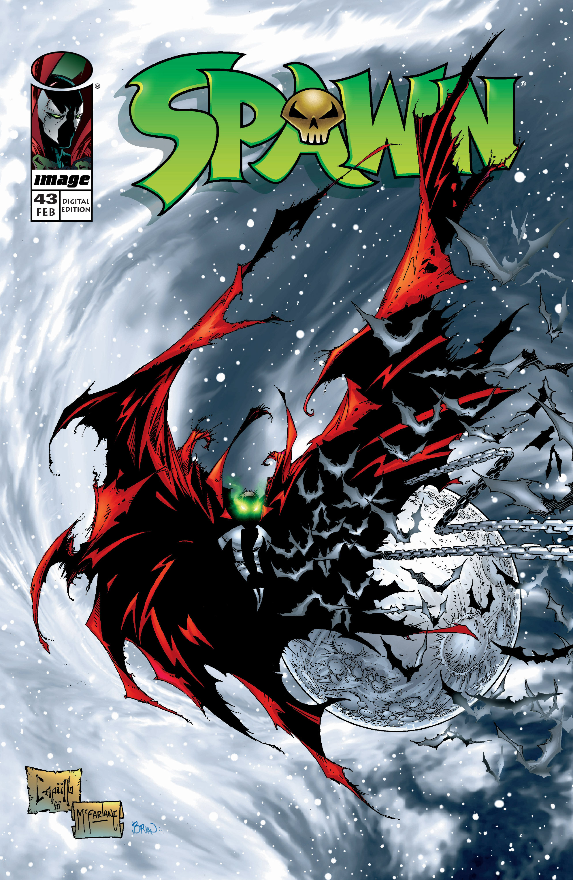 Spawn 43 Page 1