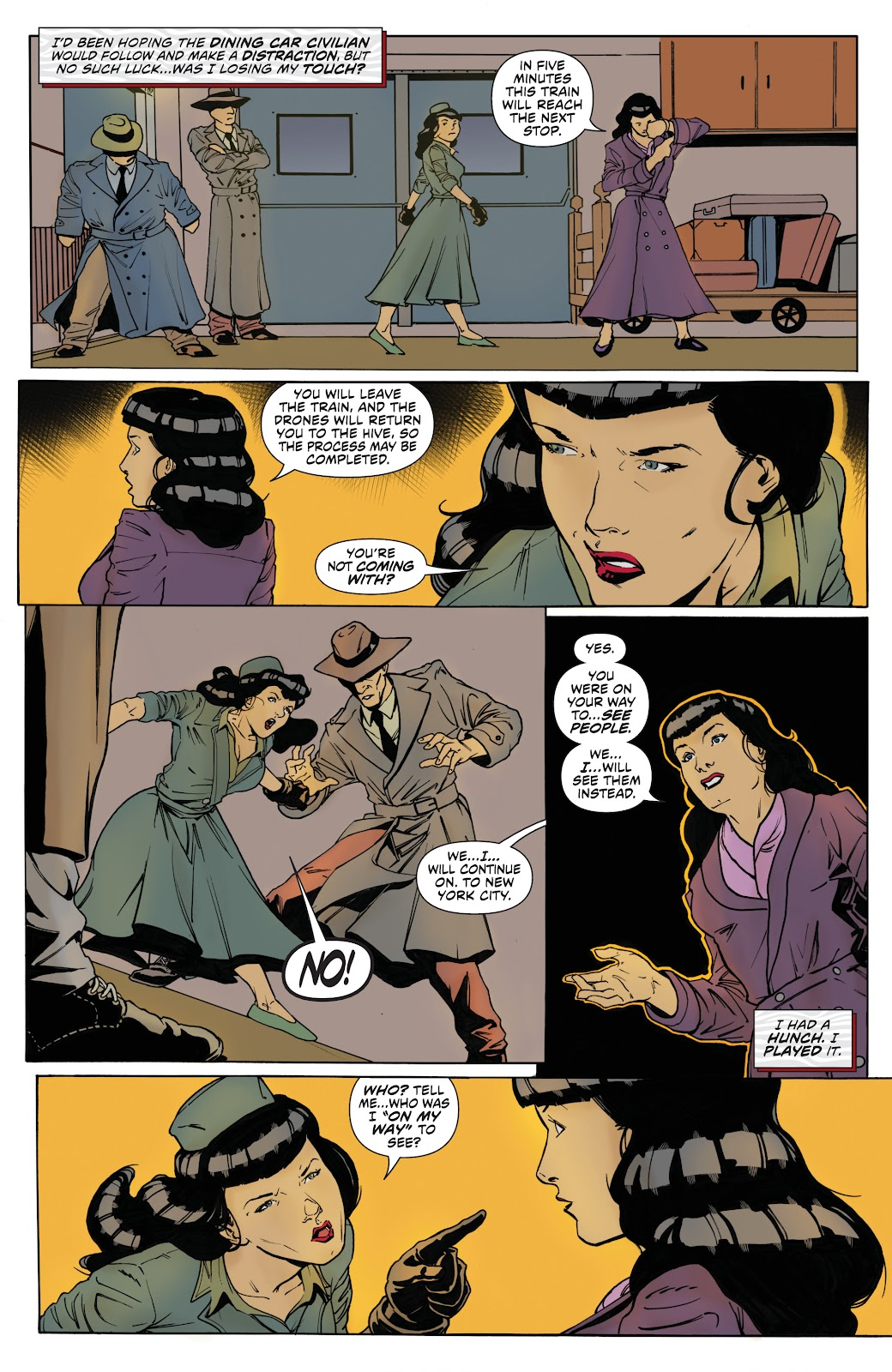 Read online Bettie Page: Unbound comic -  Issue #8 - 12