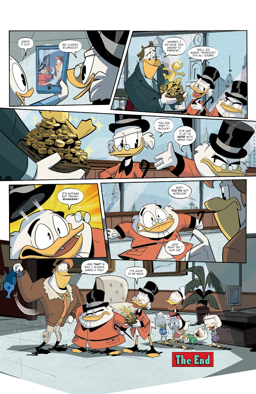 Read online Ducktales (2017) comic -  Issue #19 - 22