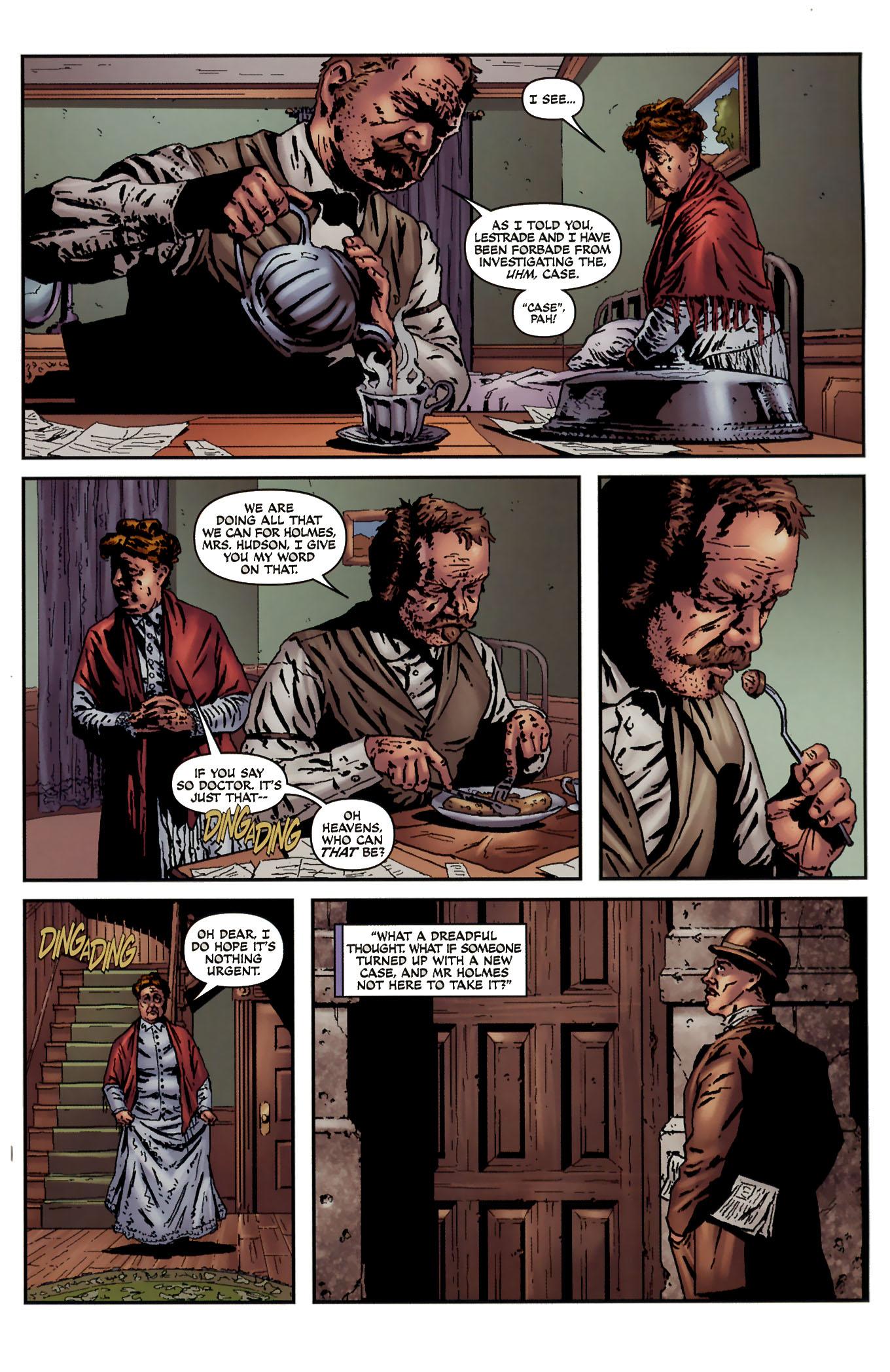 Read online Sherlock Holmes (2009) comic -  Issue #3 - 5