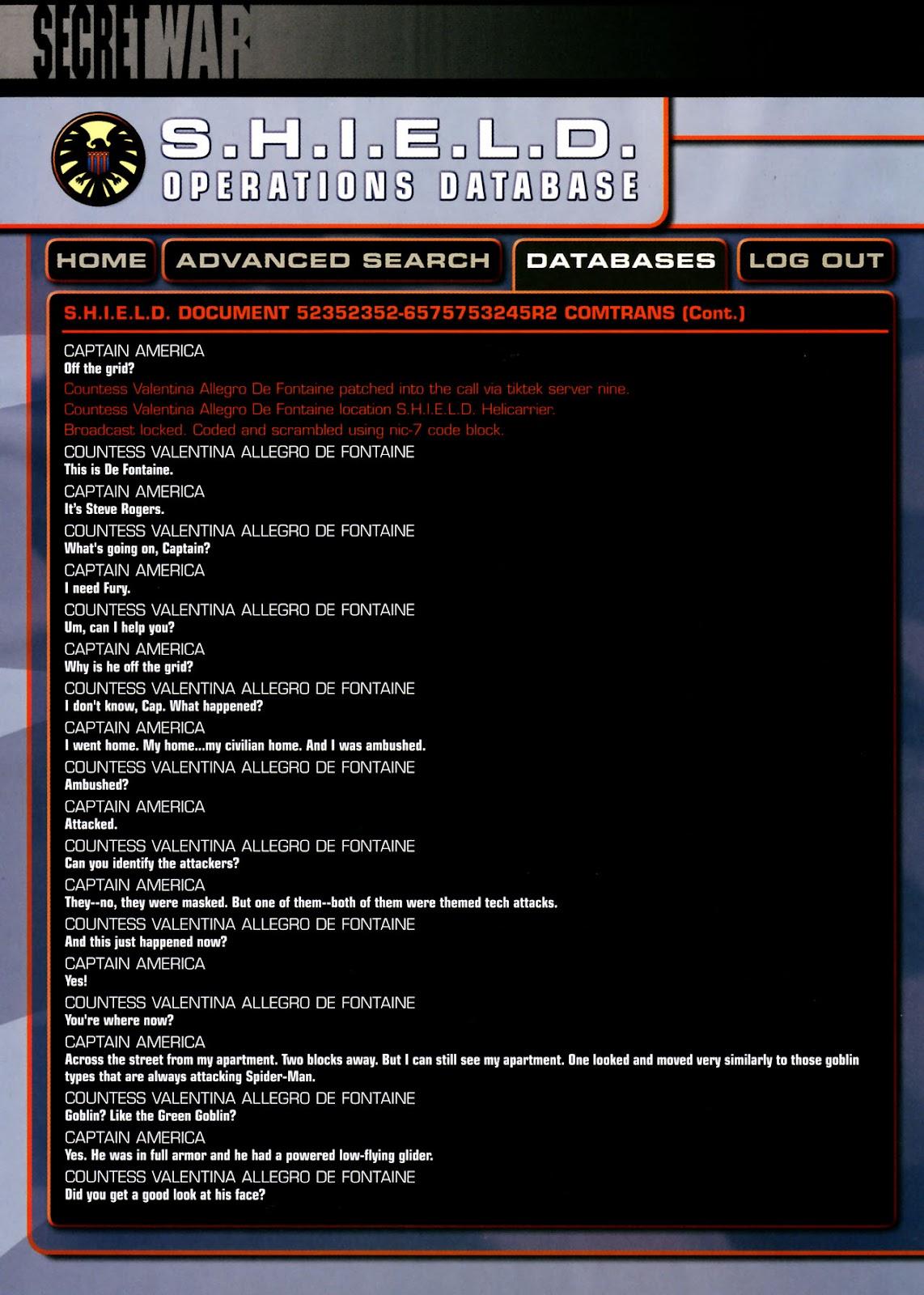 Read online Secret War comic -  Issue #3 - 26