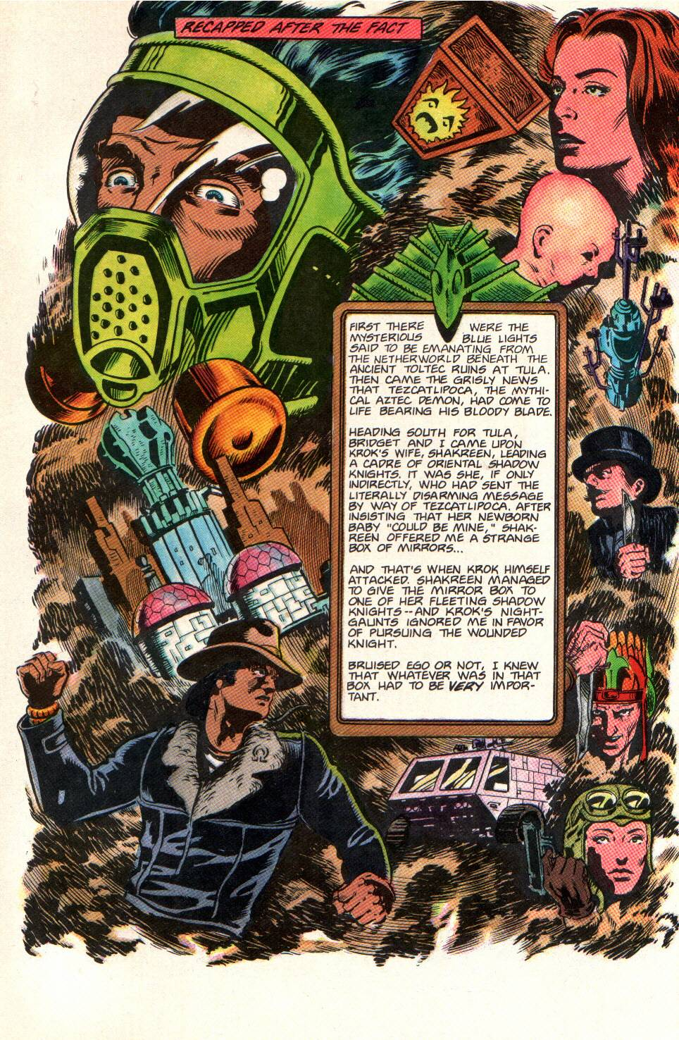Read online Aztec Ace comic -  Issue #11 - 3