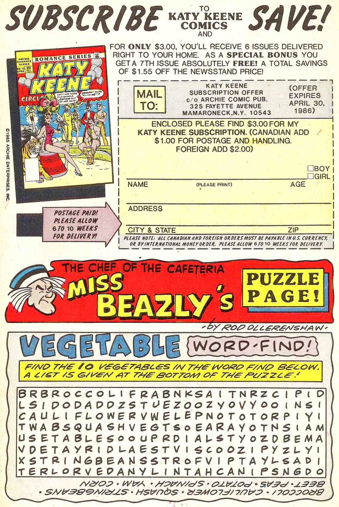 Read online Archie's Girls Betty and Veronica comic -  Issue #341 - 27