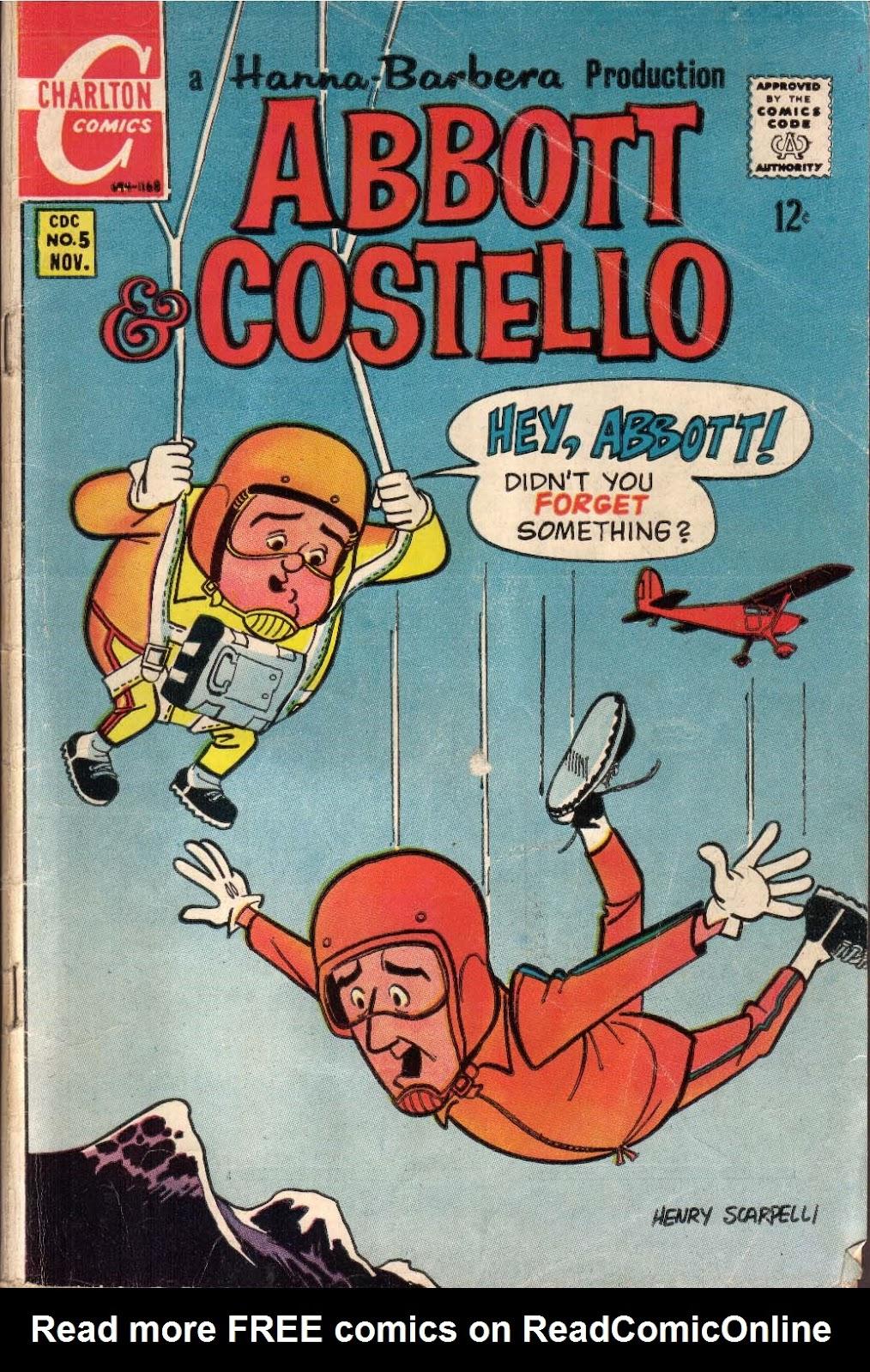 Abbott & Costello 5 Page 1