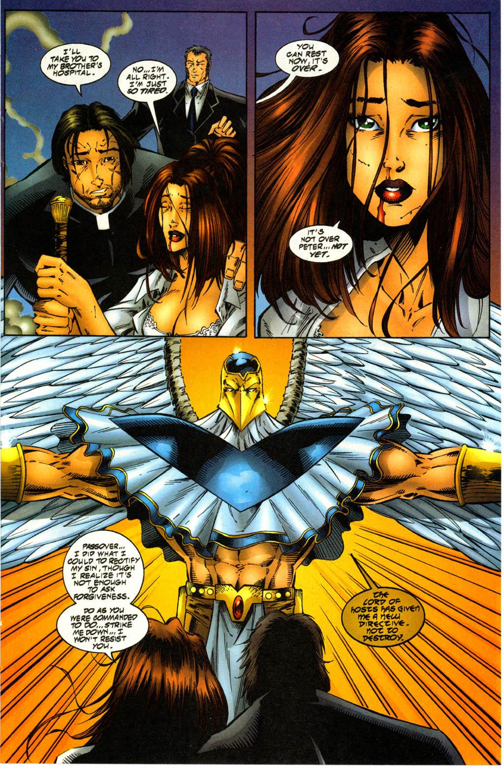 Read online Avengelyne (1996) comic -  Issue #3 - 24