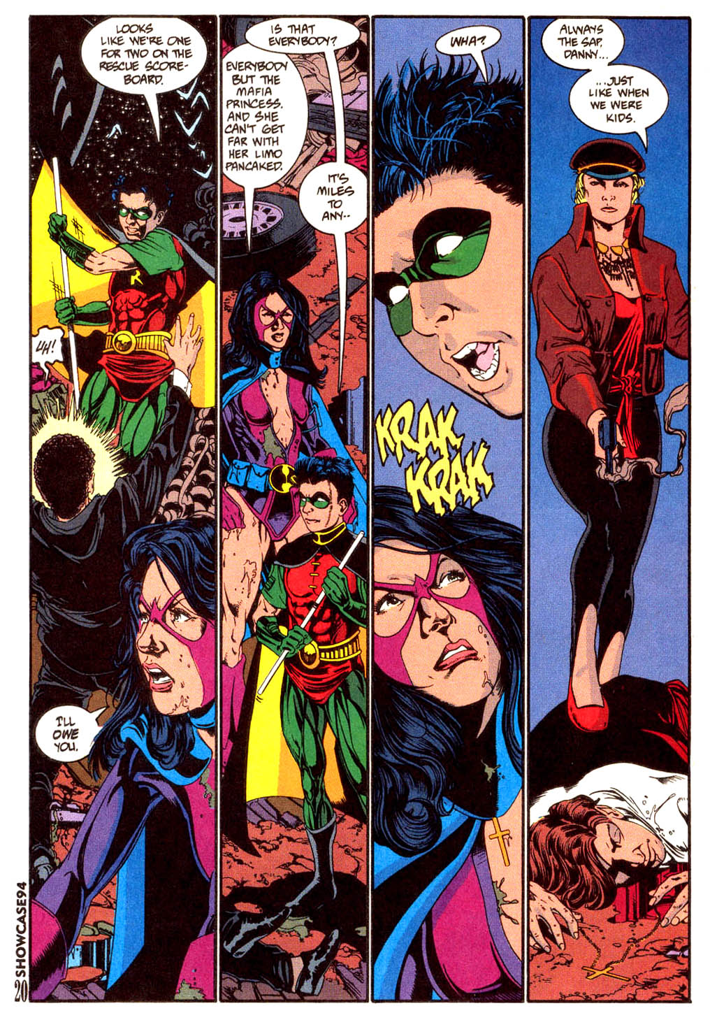 Read online Showcase '94 comic -  Issue #6 - 17