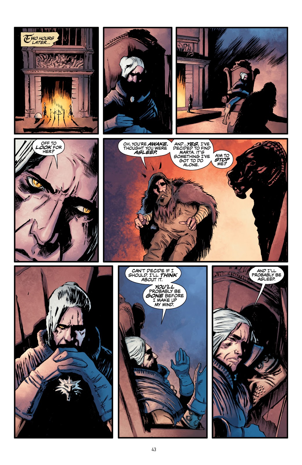 Read online The Witcher Omnibus comic -  Issue # TPB (Part 1) - 43
