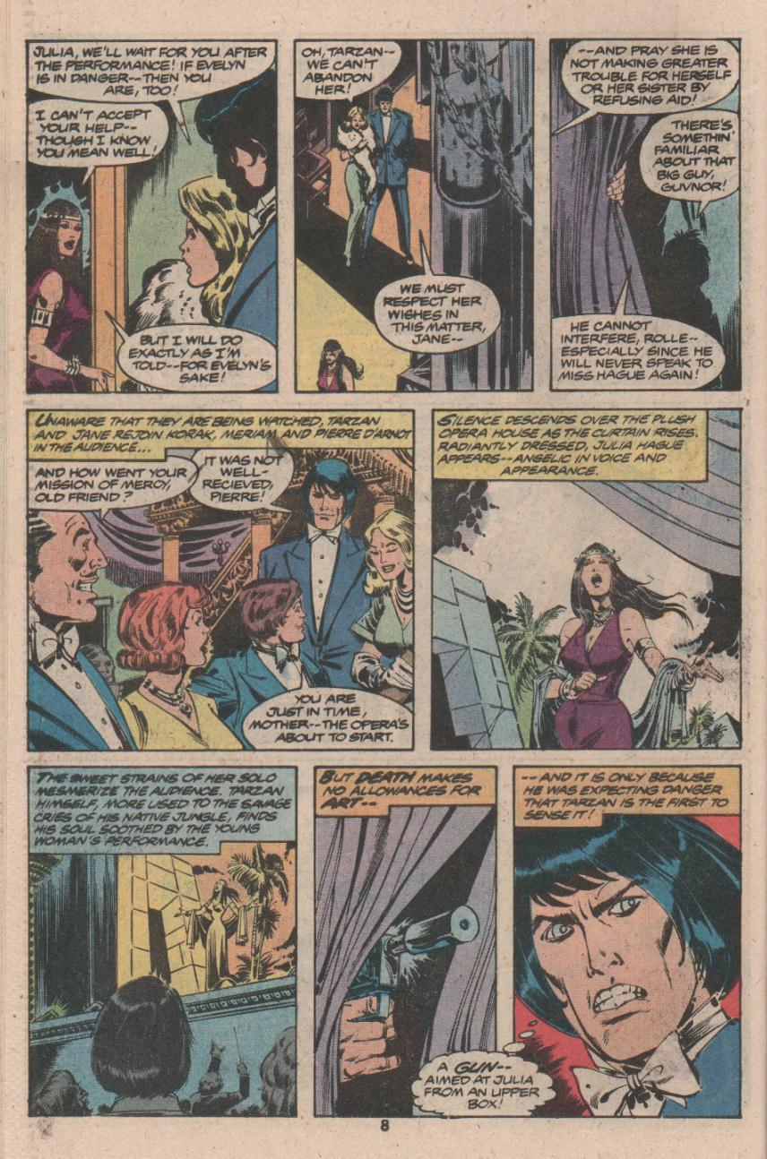 Read online Tarzan (1977) comic -  Issue # _Annual 3 - 7