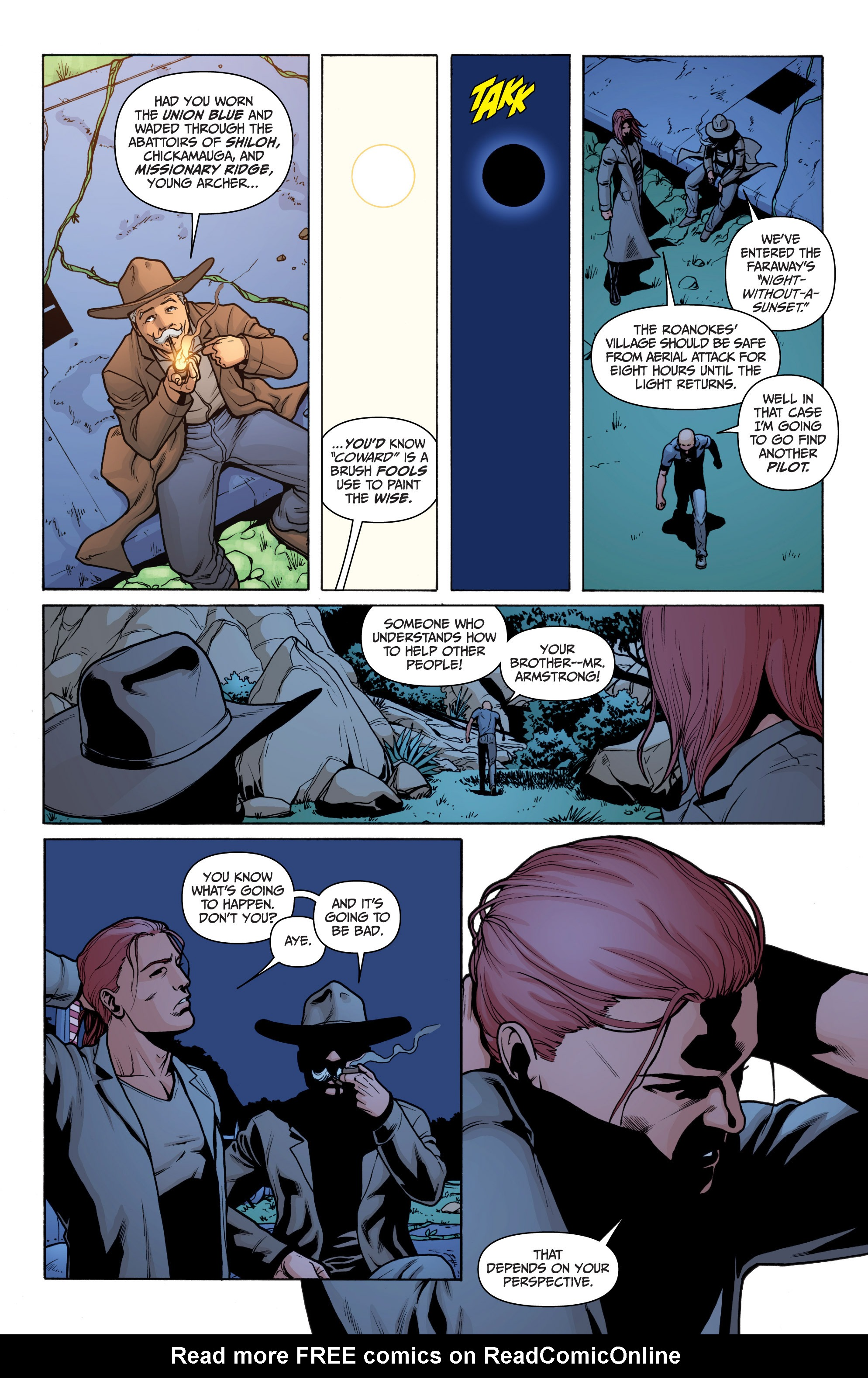 Read online Archer and Armstrong comic -  Issue #Archer and Armstrong _TPB 3 - 100