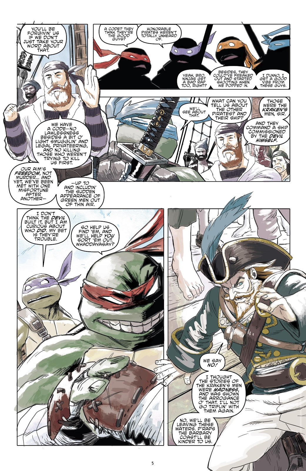 Read online Teenage Mutant Ninja Turtles: The IDW Collection comic -  Issue # TPB 5 (Part 1) - 58